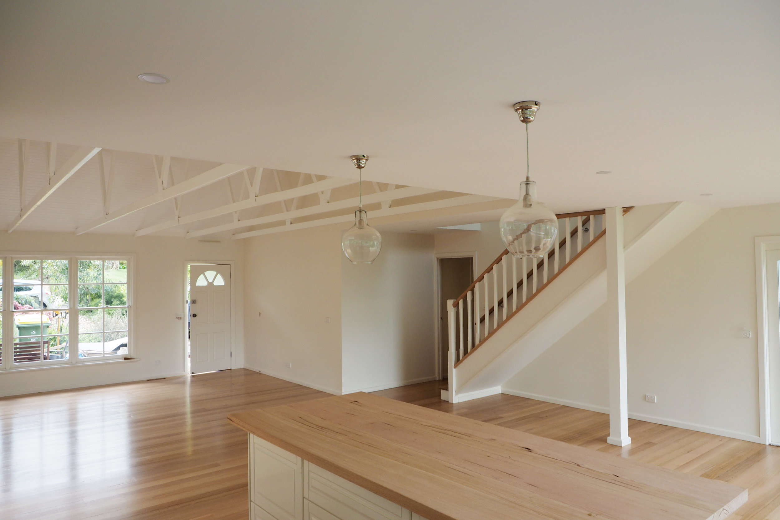 Newly renovated house with exposed beamsThe Organised You