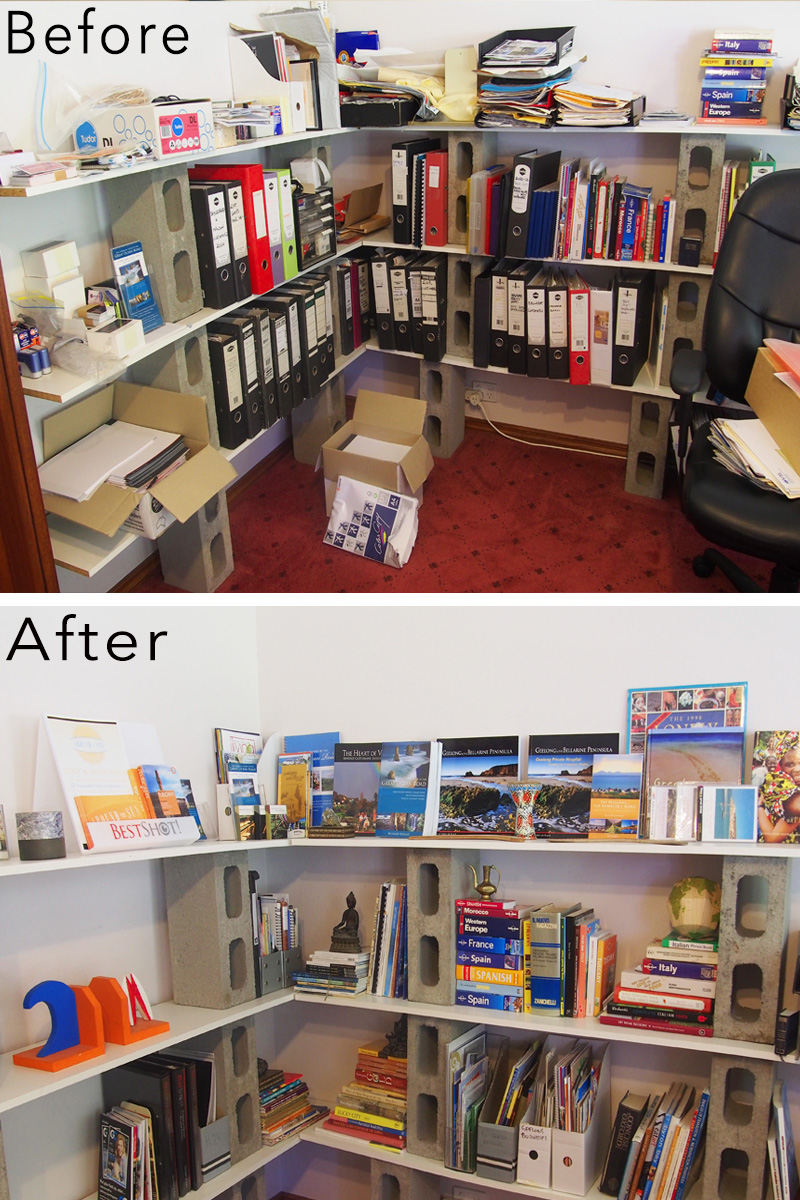 Home office organisation makeover {The Organised You}