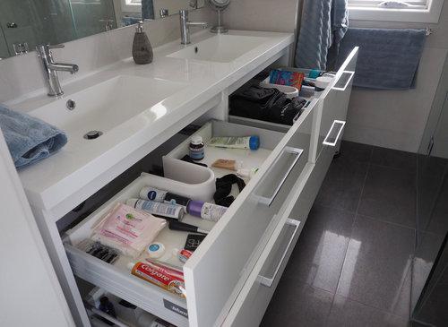 To Organise A Bathroom Vanity, Bathroom Vanity Drawers