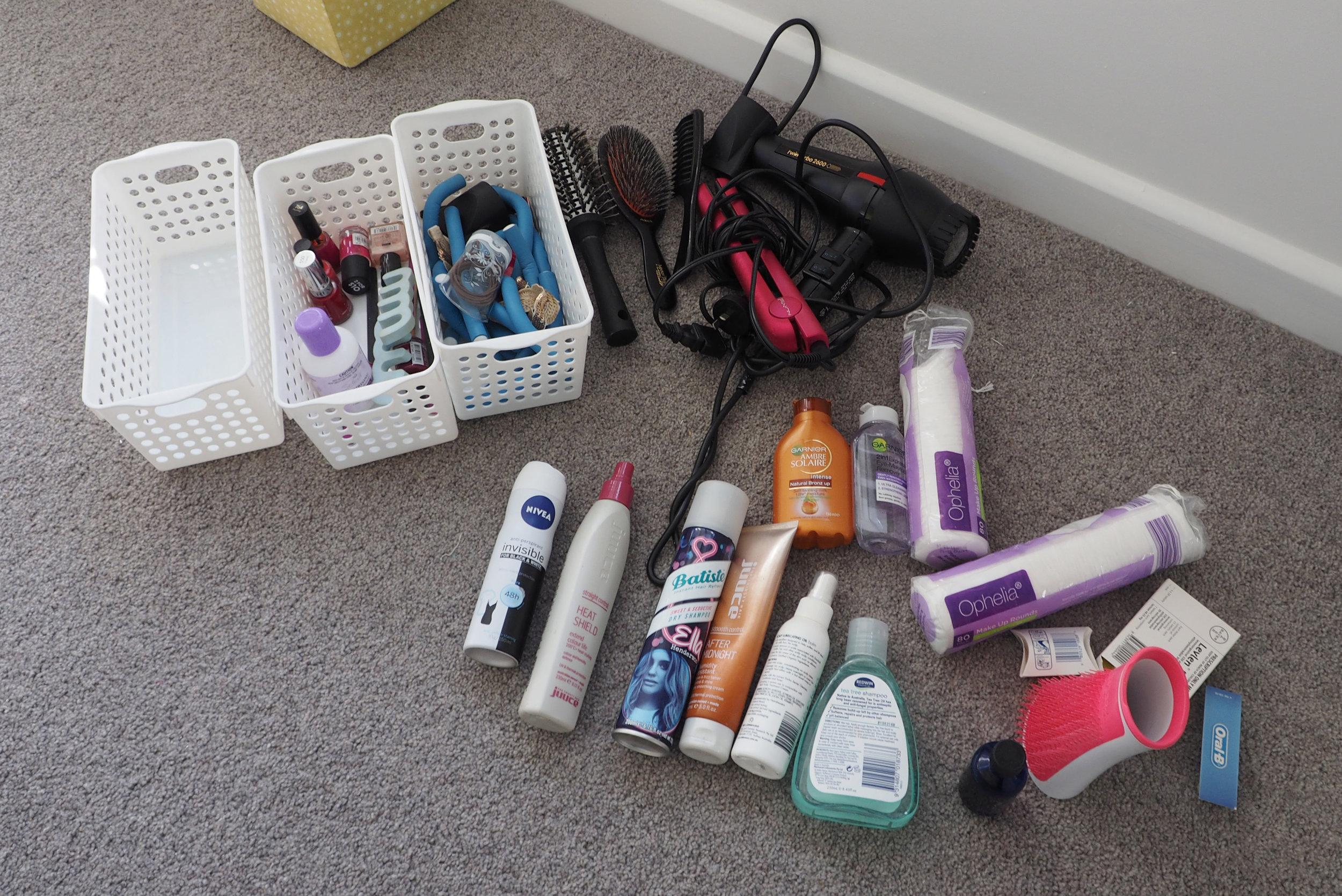 Bathroom vanity organisation - The Organised You