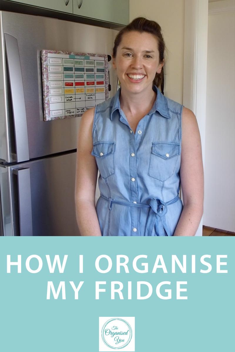 How I Organise My Fridge {The Organised You}