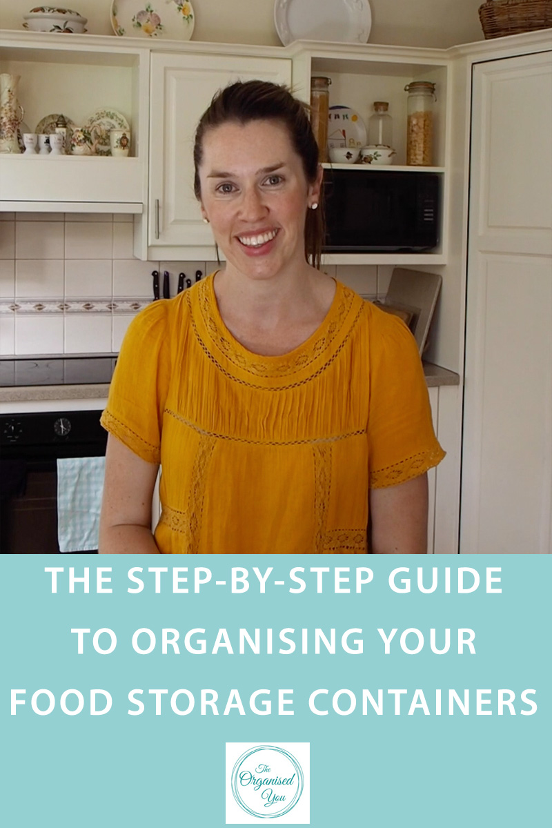 The step-by-step guide to organising your food storage containers {The Organised You}