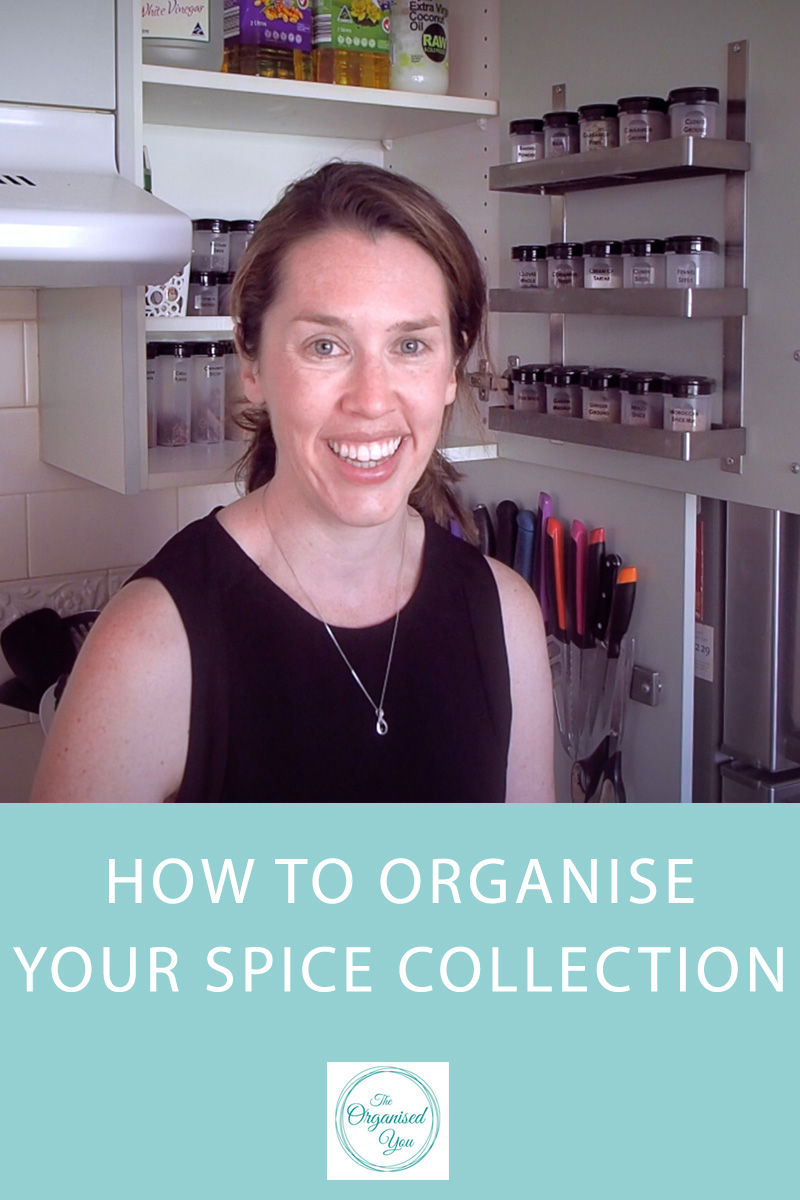 How to Organise Your Spice Collection {The Organised You}