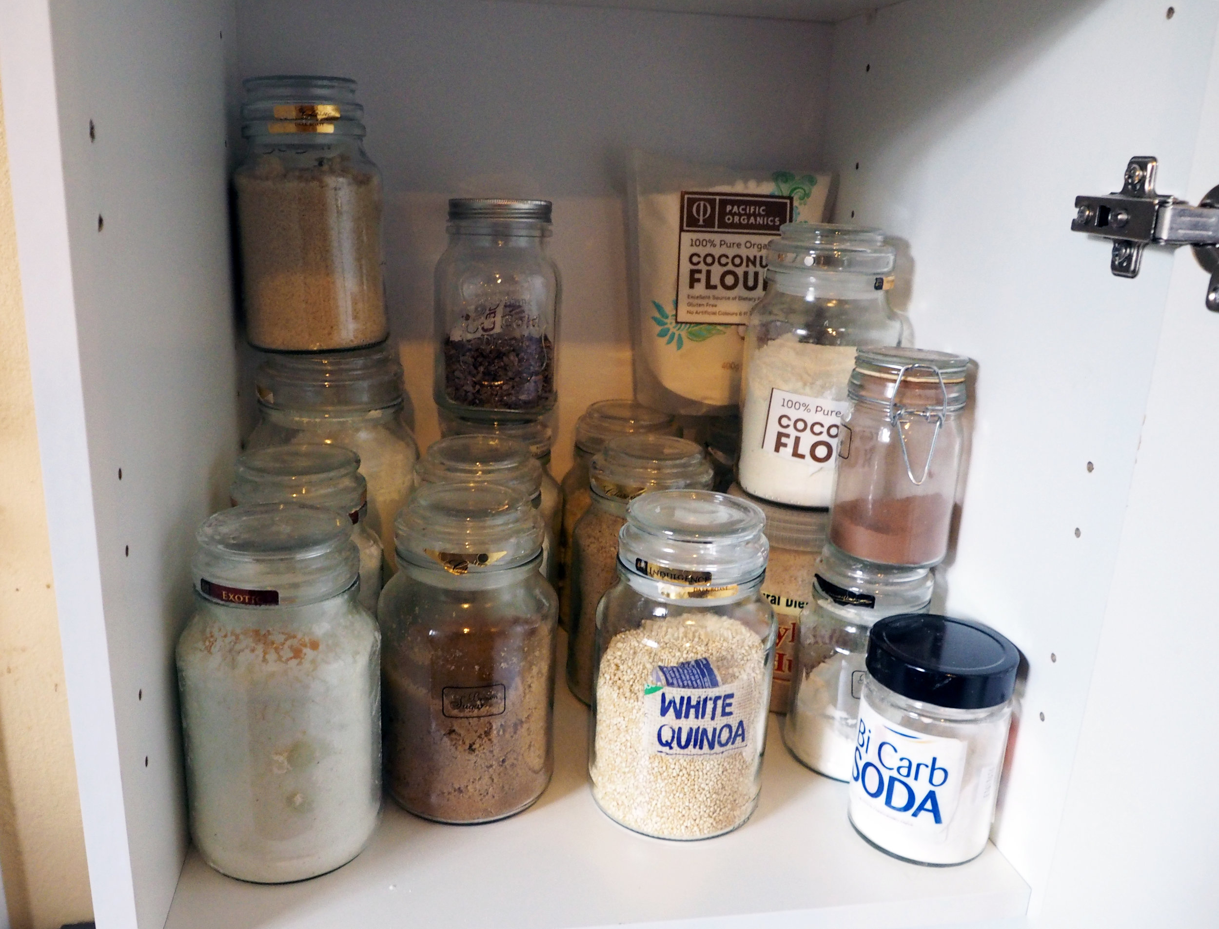 Pantry makeover {The Organised You}