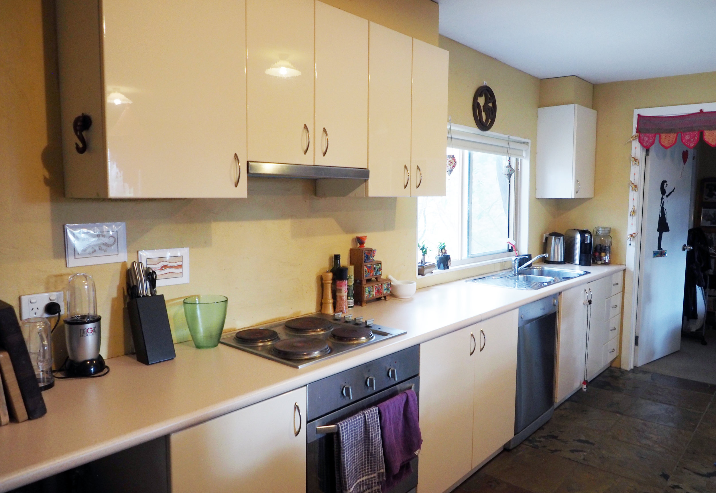 Kitchen makeover - transformed to an organised, calm and efficient space {The Organised You}