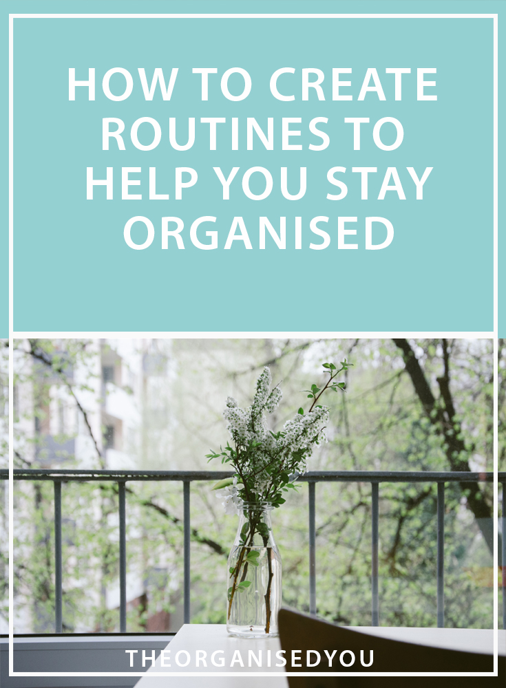 How to Create Routines to Help You Stay Organised - ever wish you could be more organised with your time so you could actually move through your never-ending list of tasks? In this post, I'm detailing how The Productivity Pack can help you become more productive and efficient in your day-to-day life through some simple routines and systems. Click through to find out more...