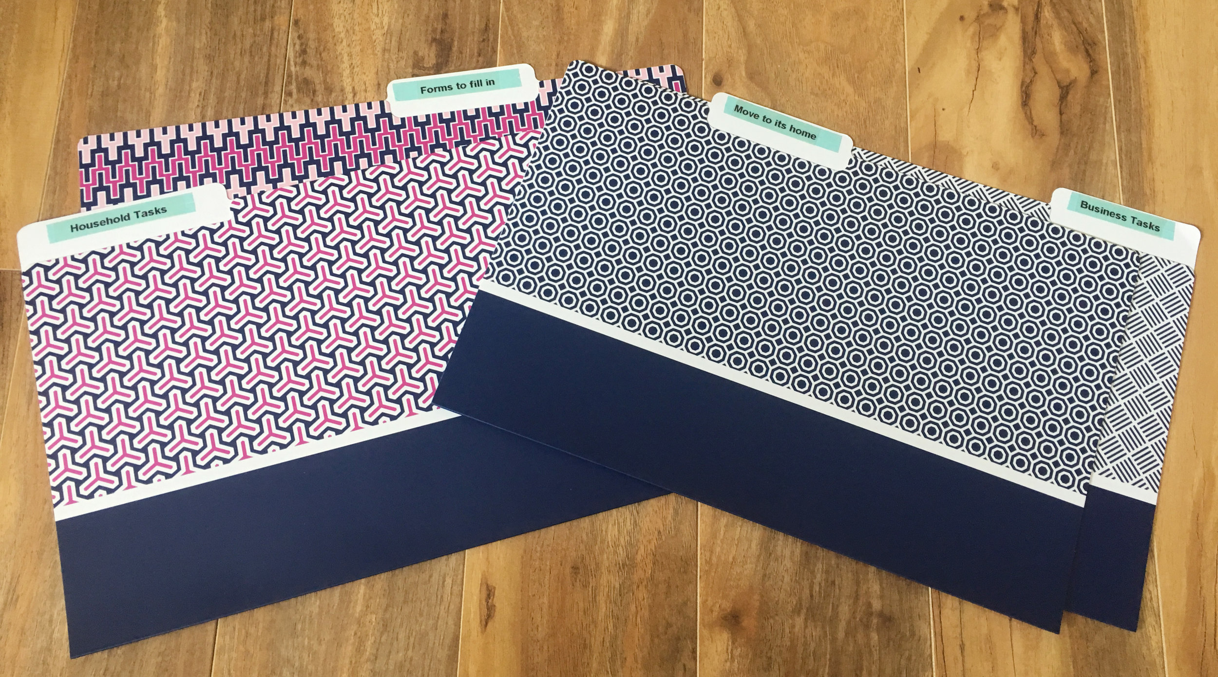 File folders are a great way to sort and store incoming paperwork {The Organised You}
