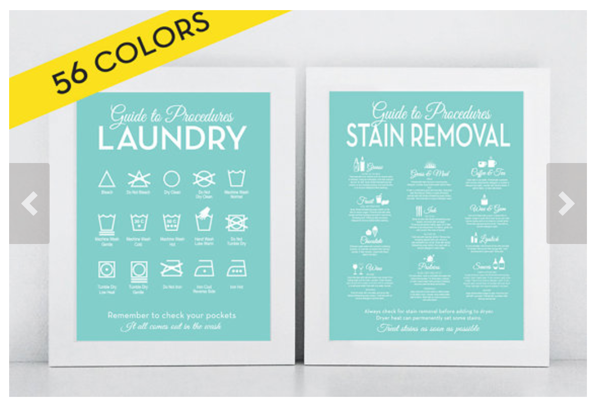 Remember how to remove stains with a stain removal guide like this one from letteredandlined