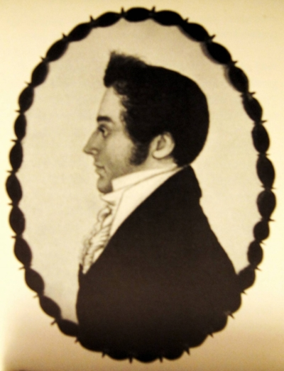 Lowell Bagley in 1810, age 26.
