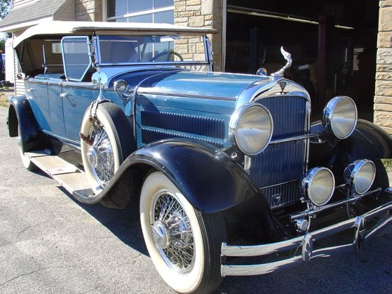 This 1929 Hudson will be part of the Sunday car show. It features a body made by the Biddle and Smart Company of Amesbury.