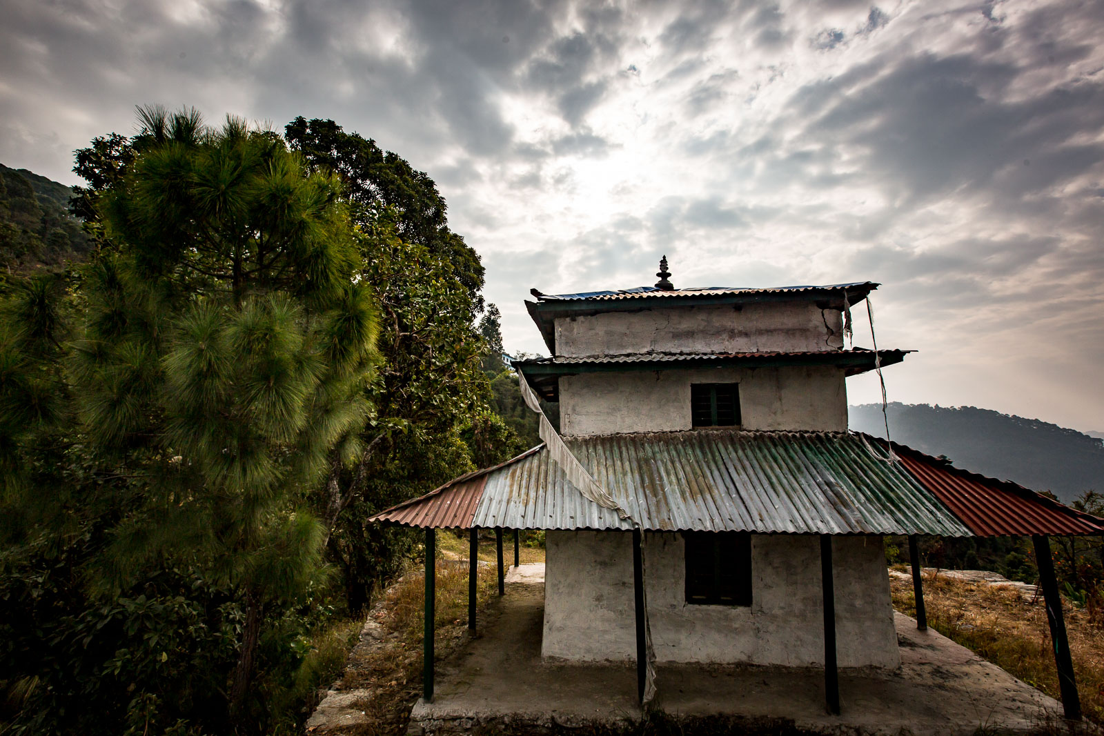 Hindu temple in Baseri