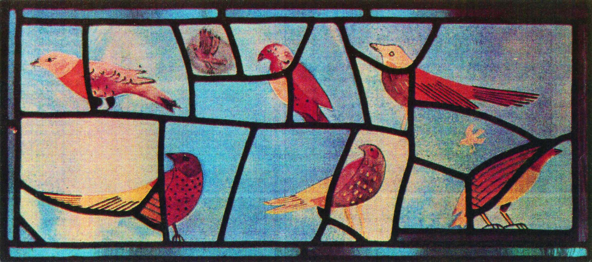 My bird window, 1986
