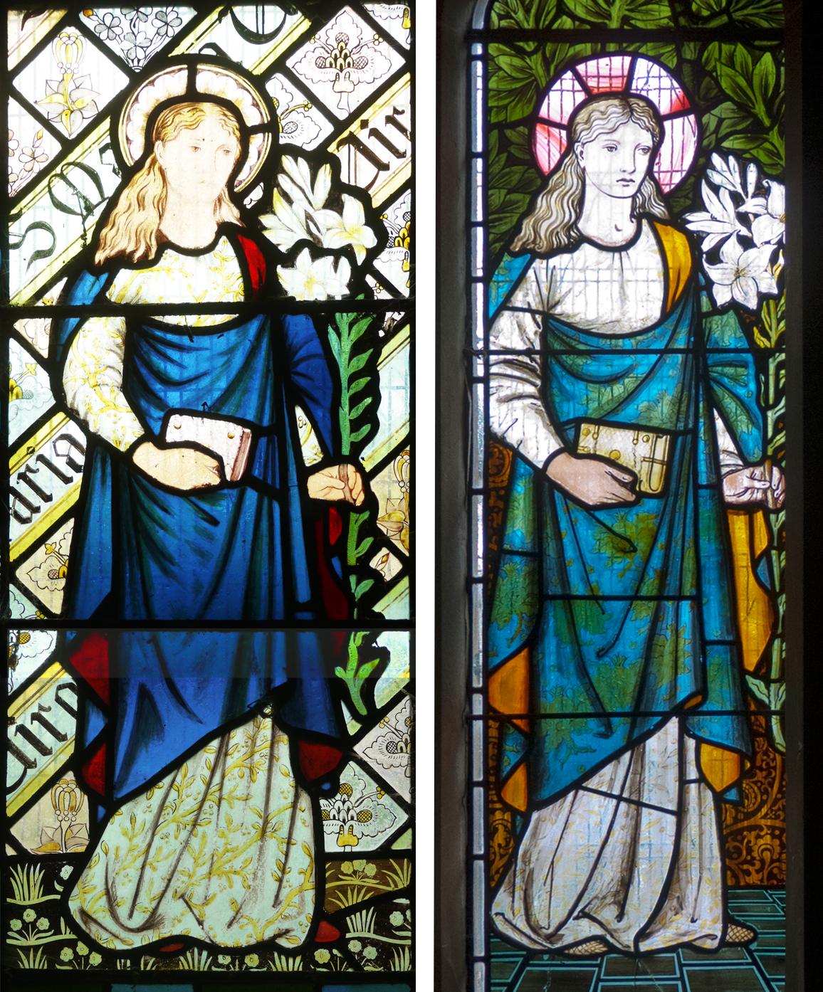 1865 Beaudesert Virgin Mary                                                                            1873 Sopworth Virgin Mary