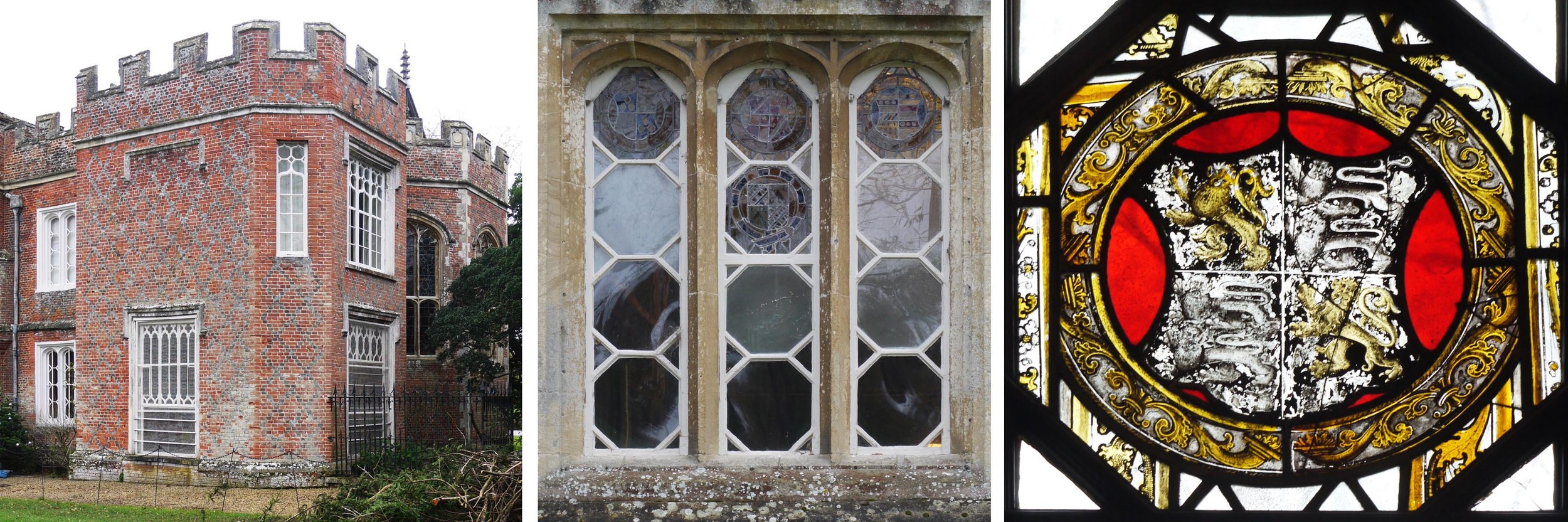 The Vyne (NT, near Basingstoke) and some of its heraldic glass