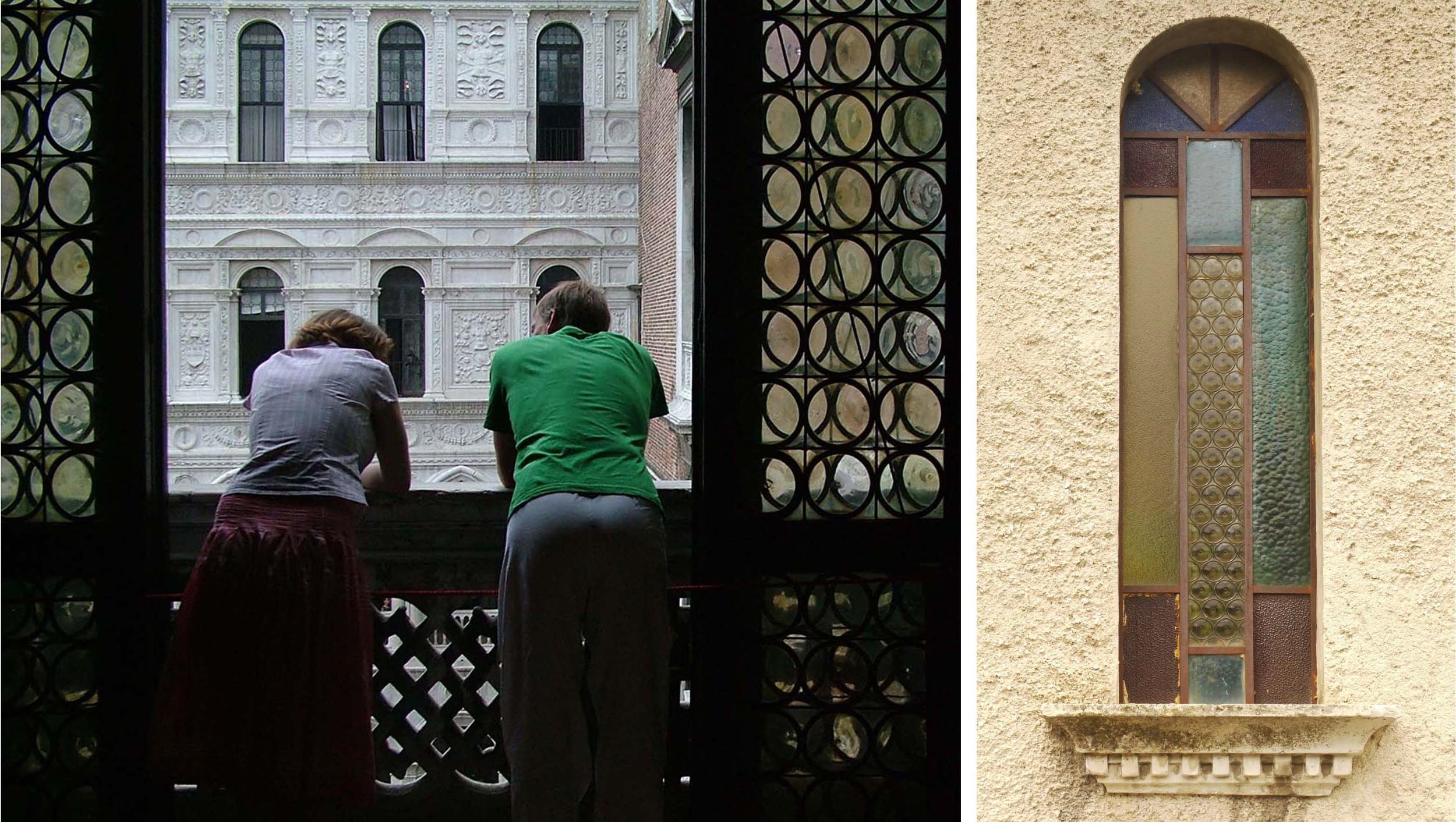 Inside the Doge's Palce, Venice                                     Chapel window, Gualdo Tadino, Umbria