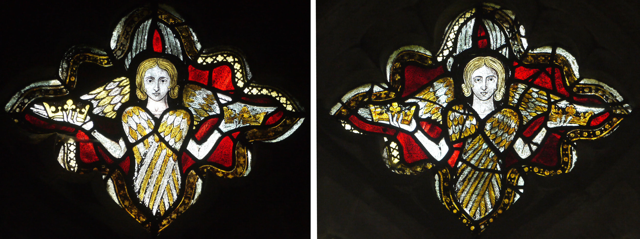 Seraphim in the chancel