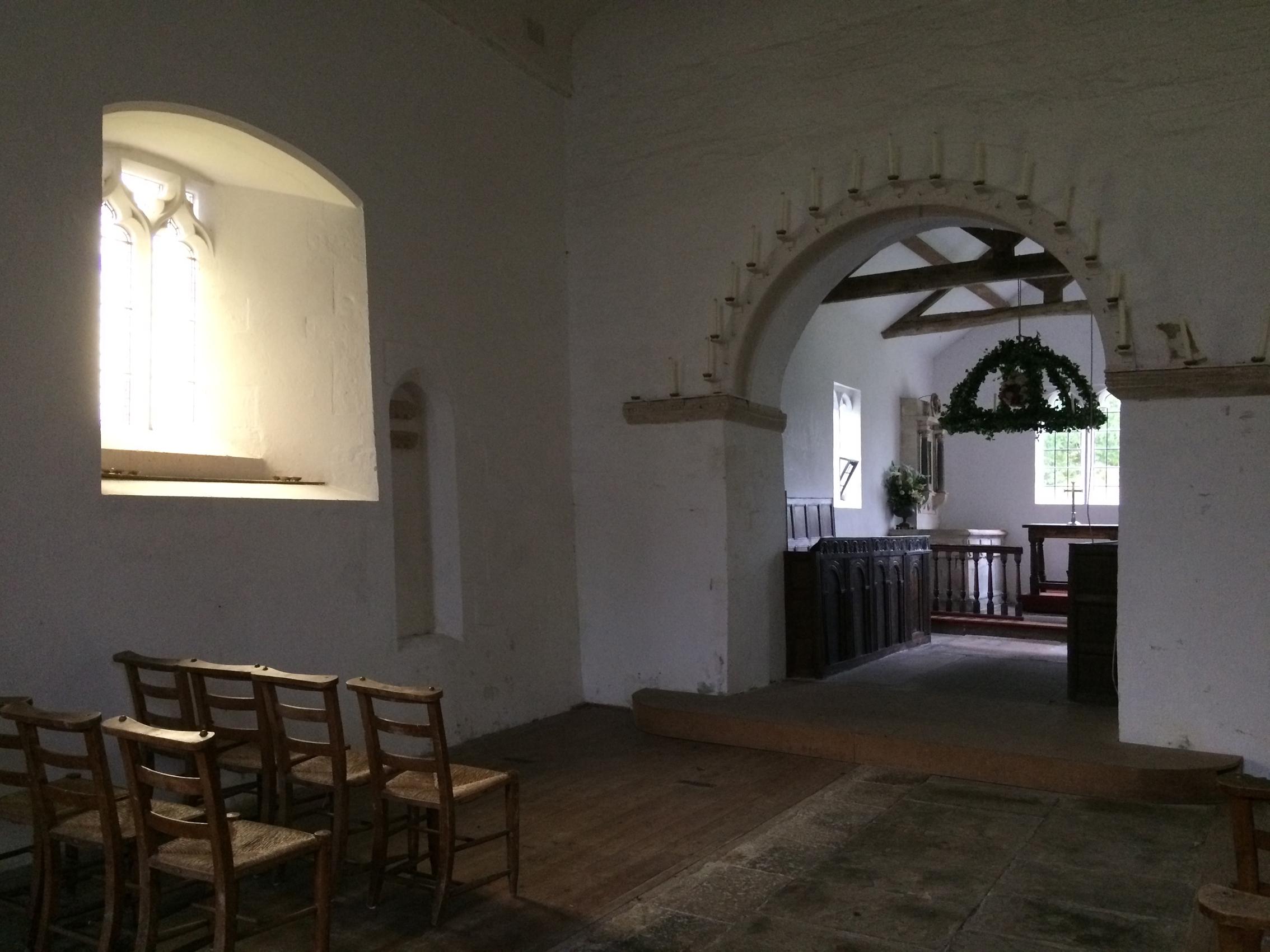 All saints, Alton Priors, Wiltshire