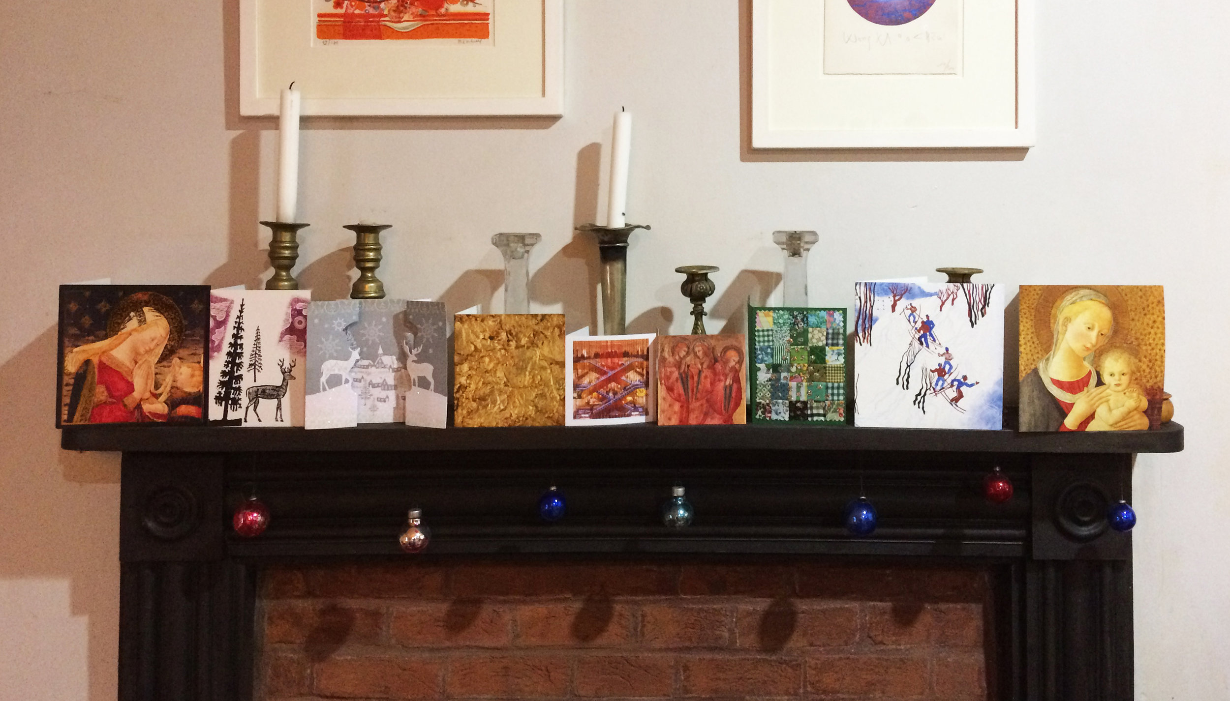 Some good ones on the mantlepiece, in case you're in doubt - square, portrait, other, sq., sq., sq., portrait, sq., sq.