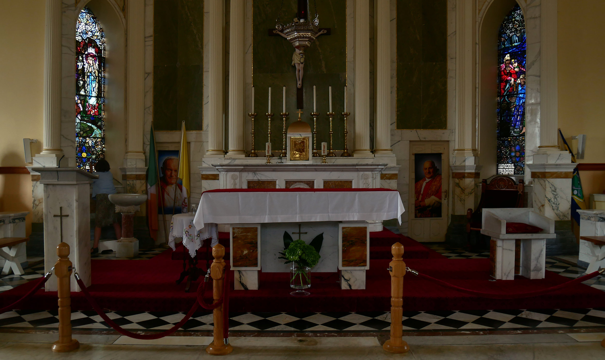 Interior of Duhill Catholic Church, County Tipperary
