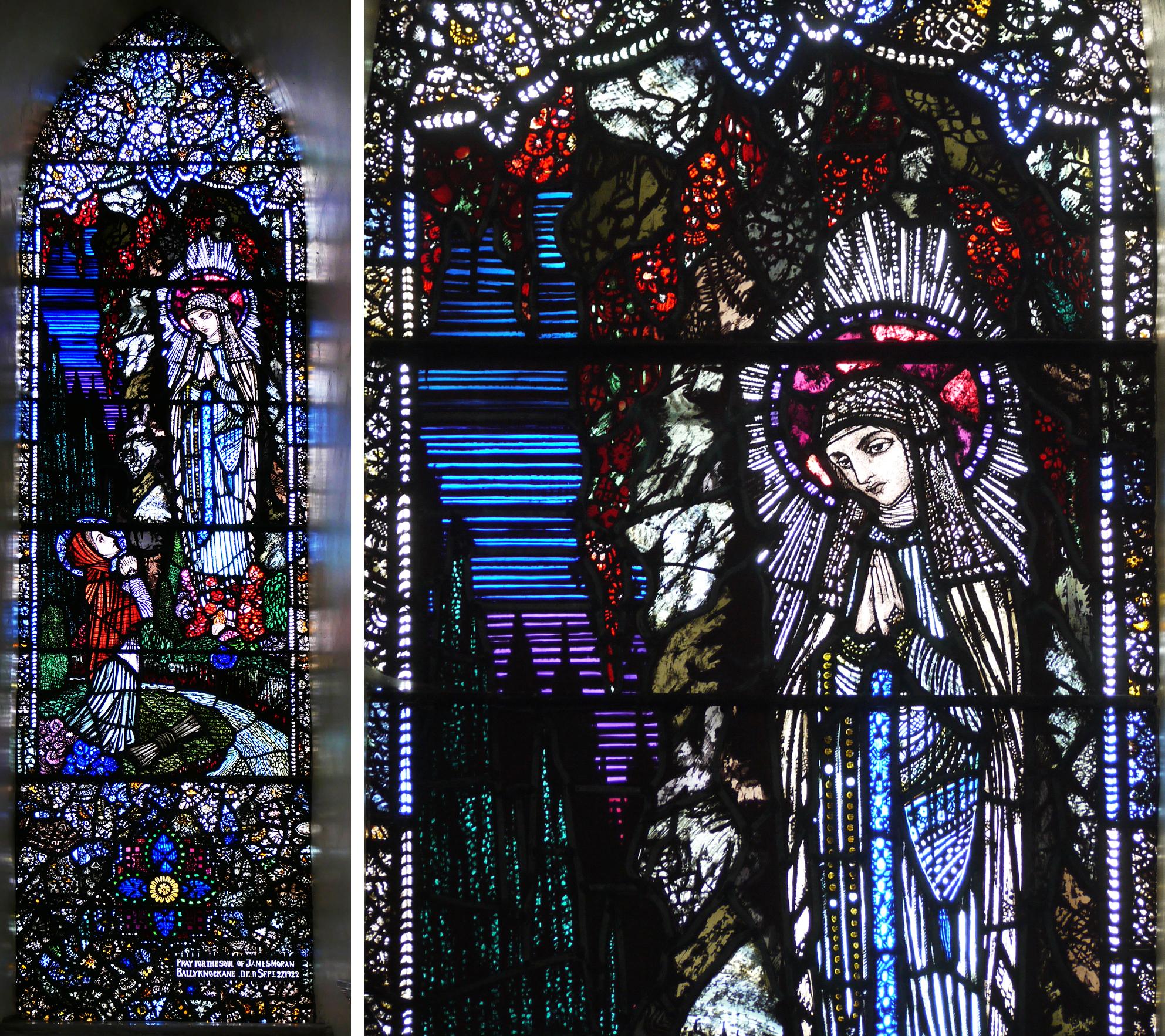 Vision of Bernadette at Lourdes, 1925