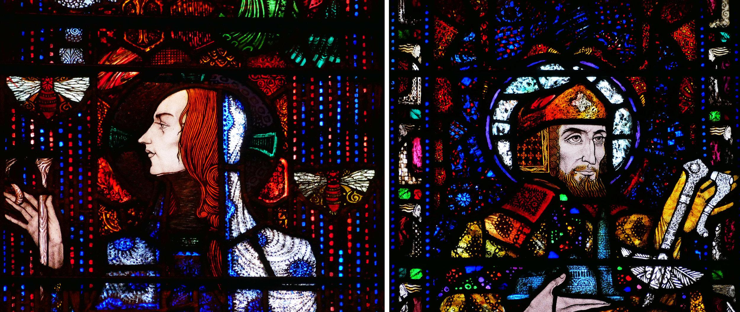 Head of St Gobnait                                 Head of St Declan