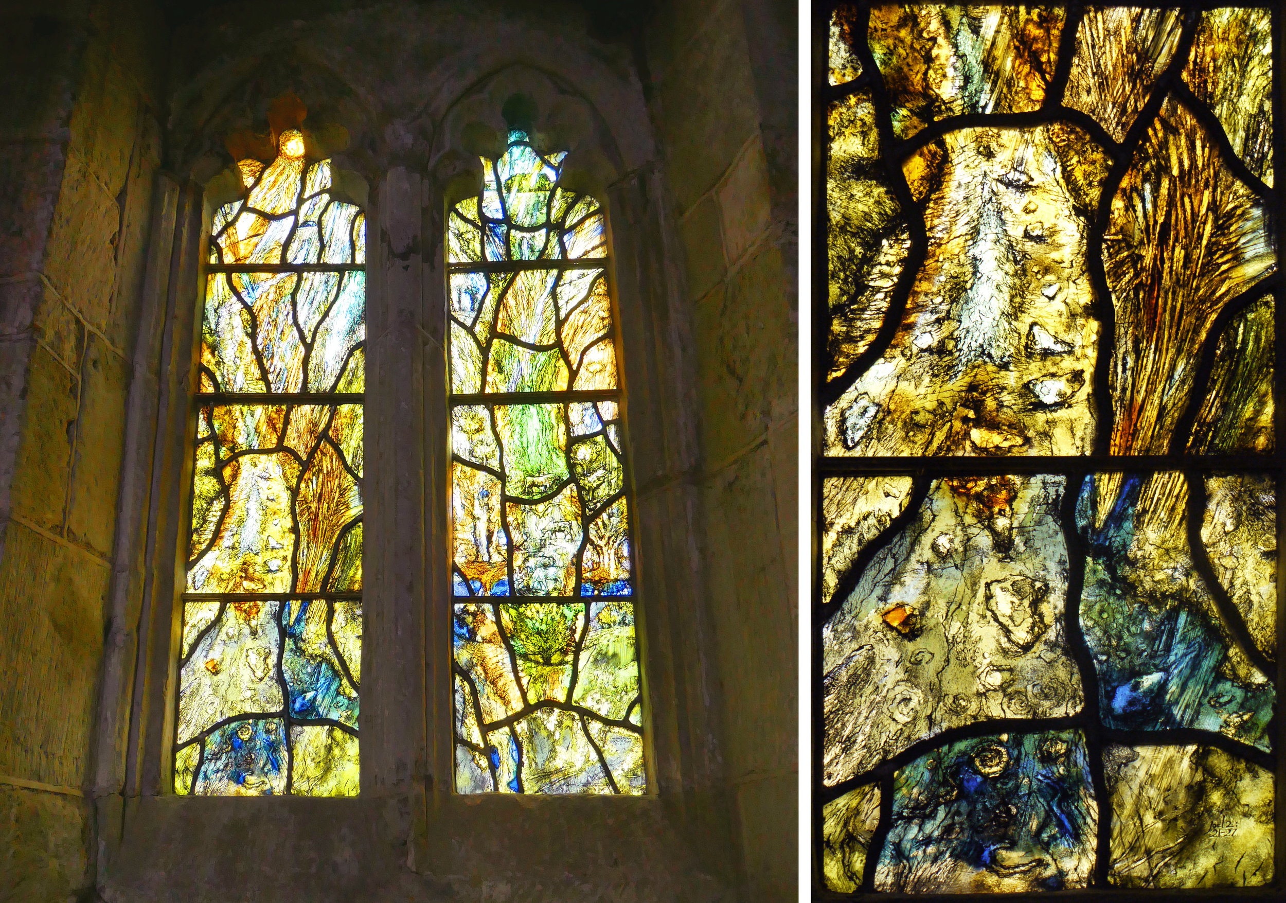 Tom Denny window, St Mary, Tarrant Hinton 2000