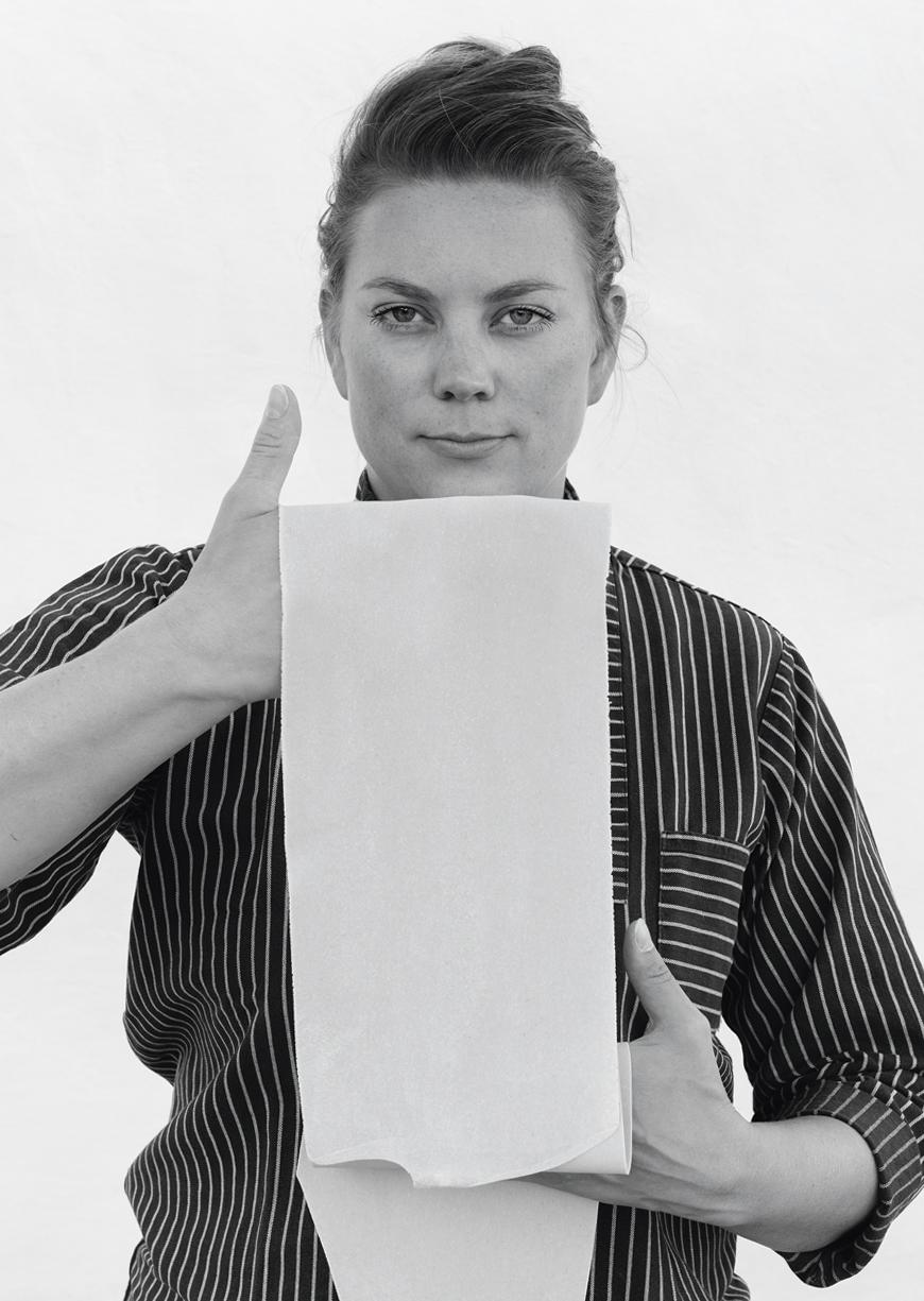 Anna Pearson mit ihrer Pasta