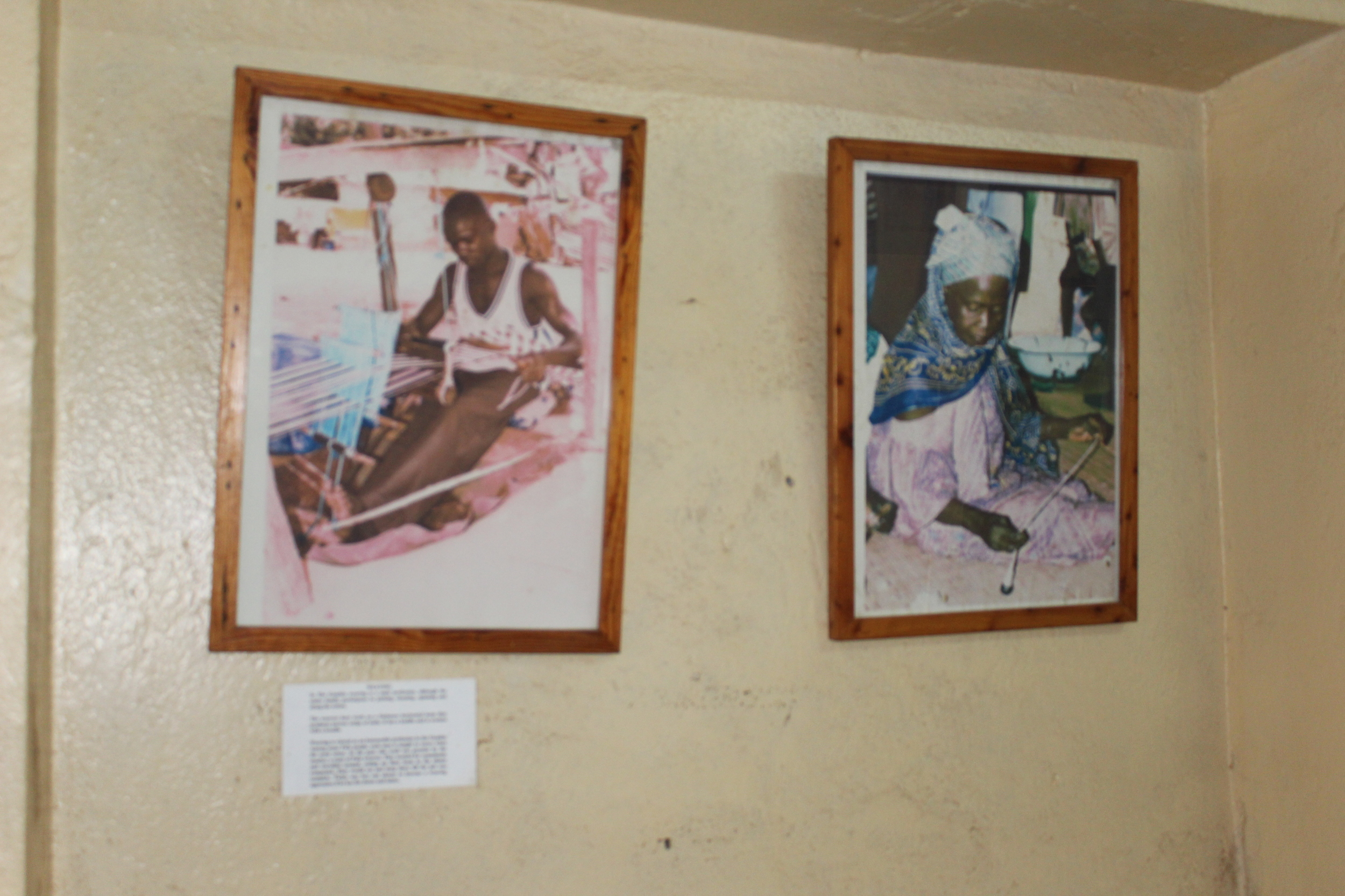 Weavers and crafters in The Gambia.