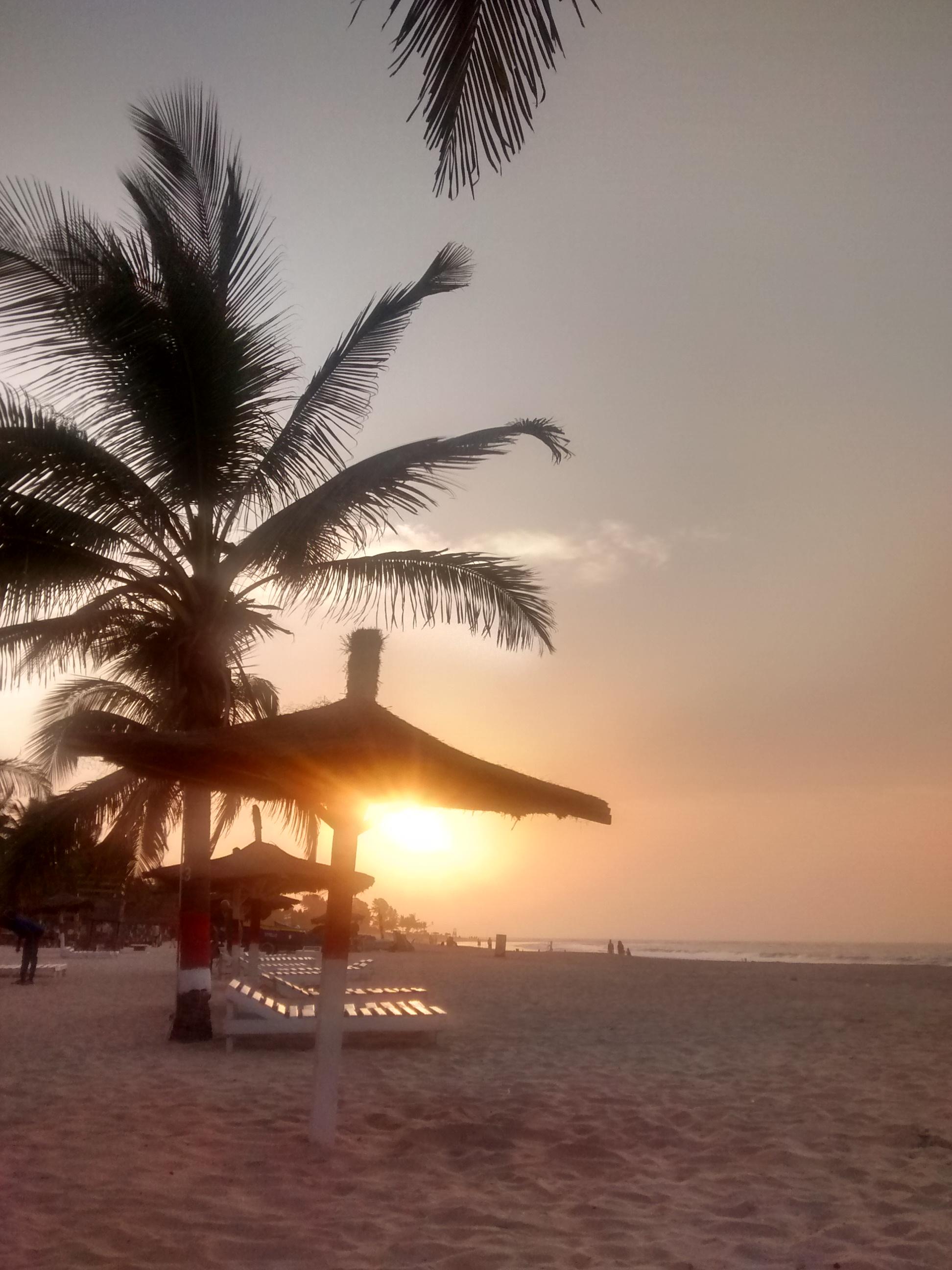 Sunset on Kotu Beach. Bye bye Gambia. Soon, yeah?