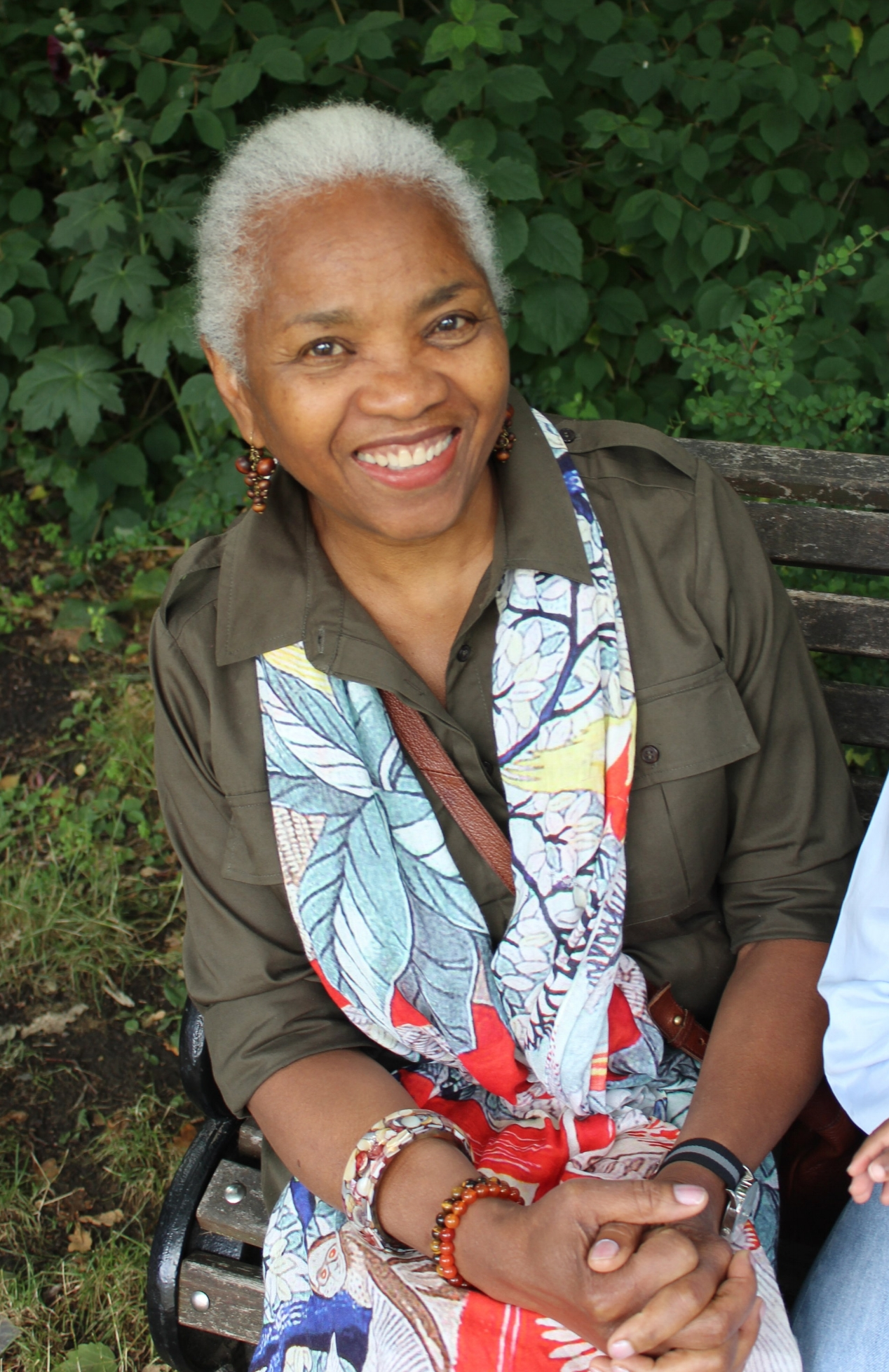 Beautiful Barbara originally hails from Trinidad and settled in London in the 60s.