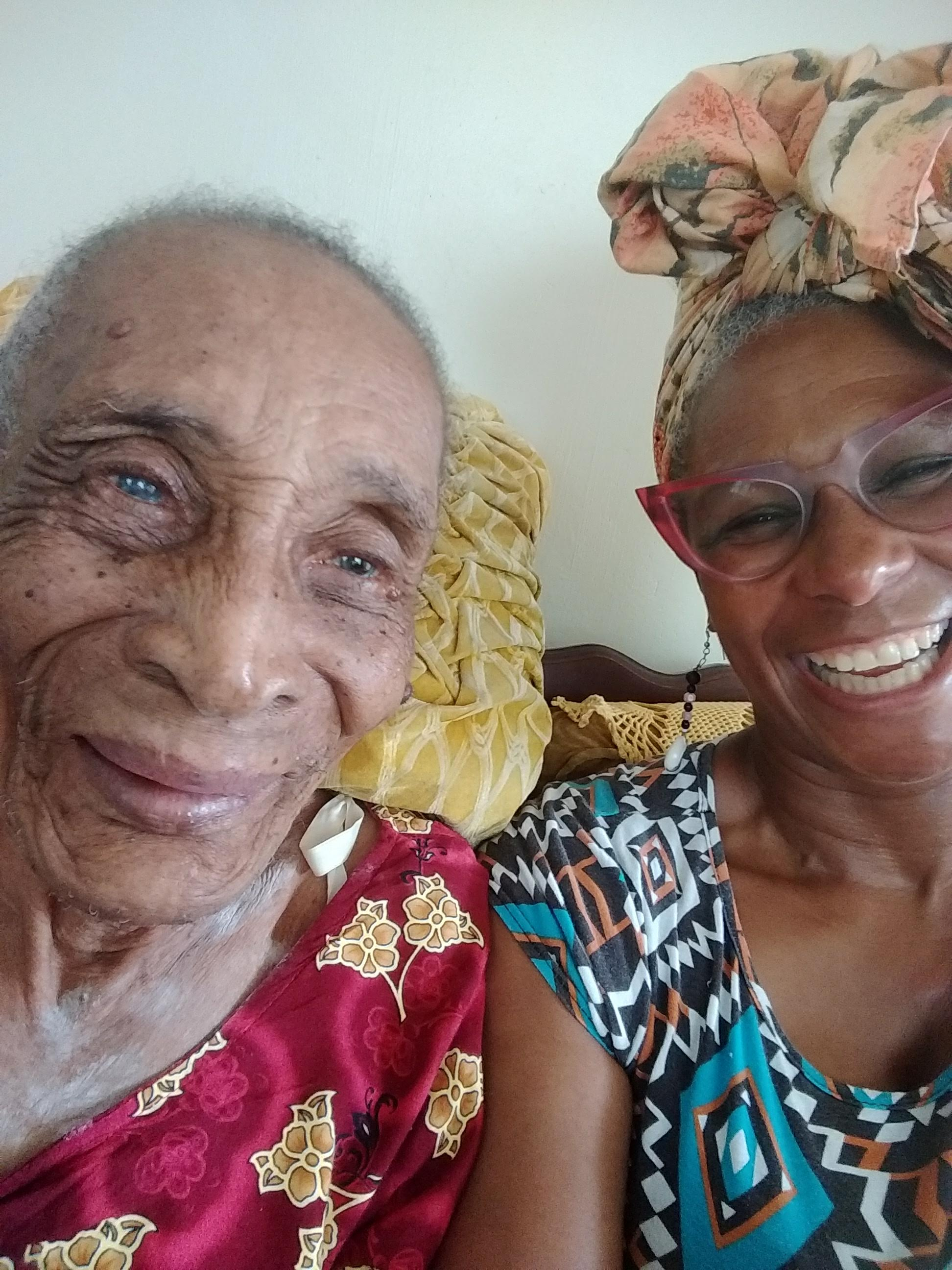 A two week break in Barbados meant I could spend some quality time with family and friends. Here is Aunt Ev who is a sprightly 100 years old! September 2018.