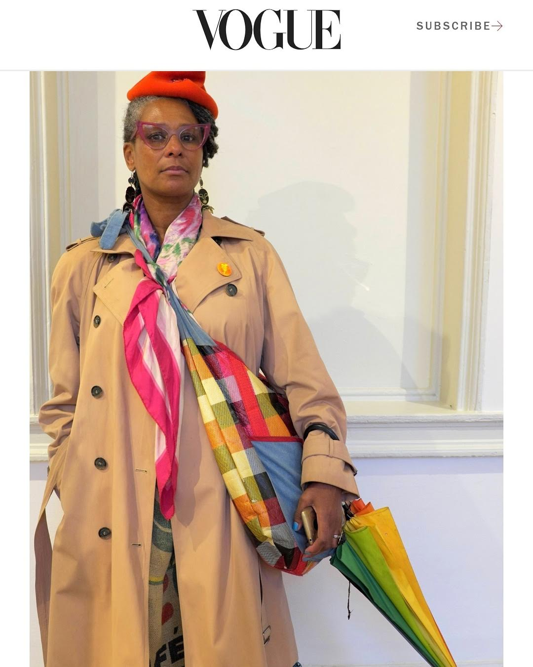 Papped at 1:54 African Art Fair by Osaretin Ugiabe for Duro Olowu Street Style picks for American Vogue. Ok then! October 2018.