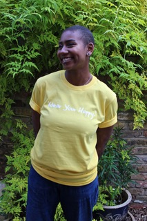 NEW!   Wear Your Happy TEES! Choose from Cerise Pink or Sunshine Yellow! More colours to come…