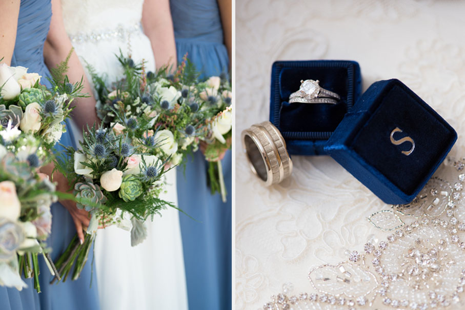 Norfolk Zoo Wedding with Succulent and Blue Thistle Bouquets2.jpg