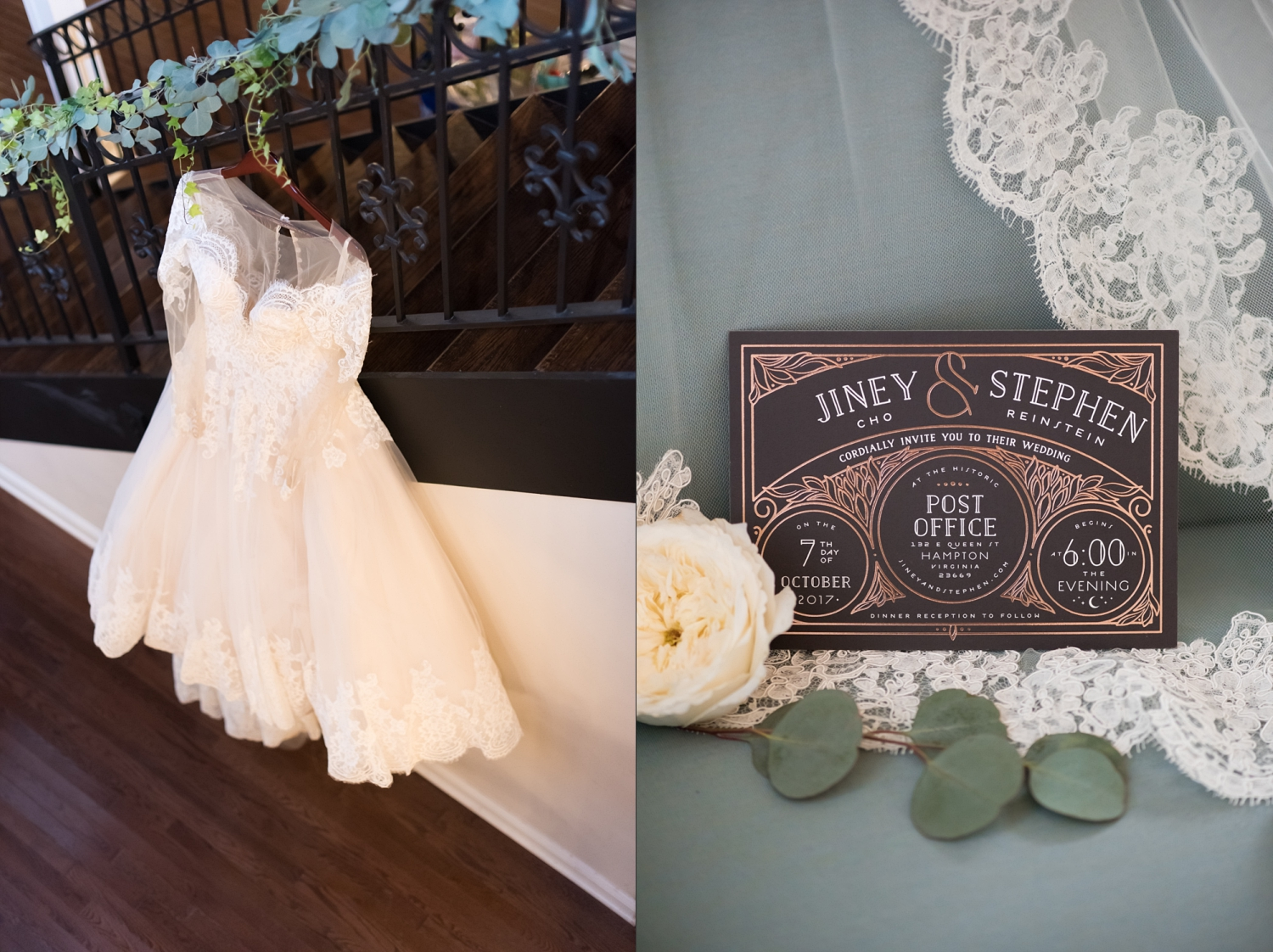 Rose Gold Wedding at Historic Post Office Virginia Harry Potter Themed Wedding-101_WEB.jpg