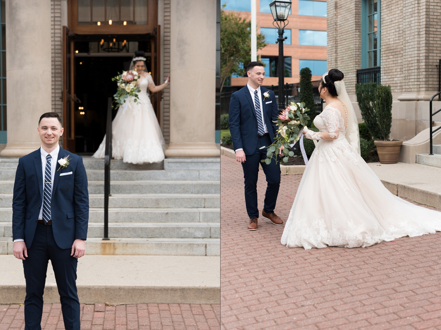 Rose Gold Wedding at Historic Post Office Virginia Harry Potter Themed Wedding-130_WEB.jpg