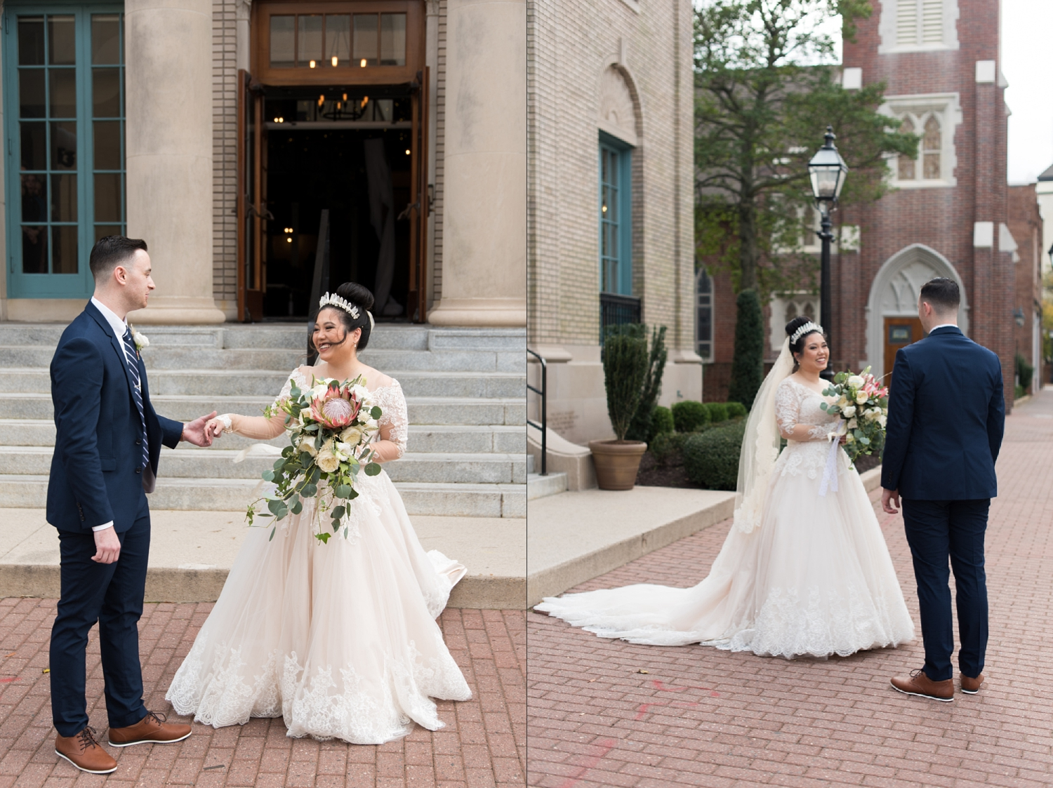 Rose Gold Wedding at Historic Post Office Virginia Harry Potter Themed Wedding-132_WEB.jpg