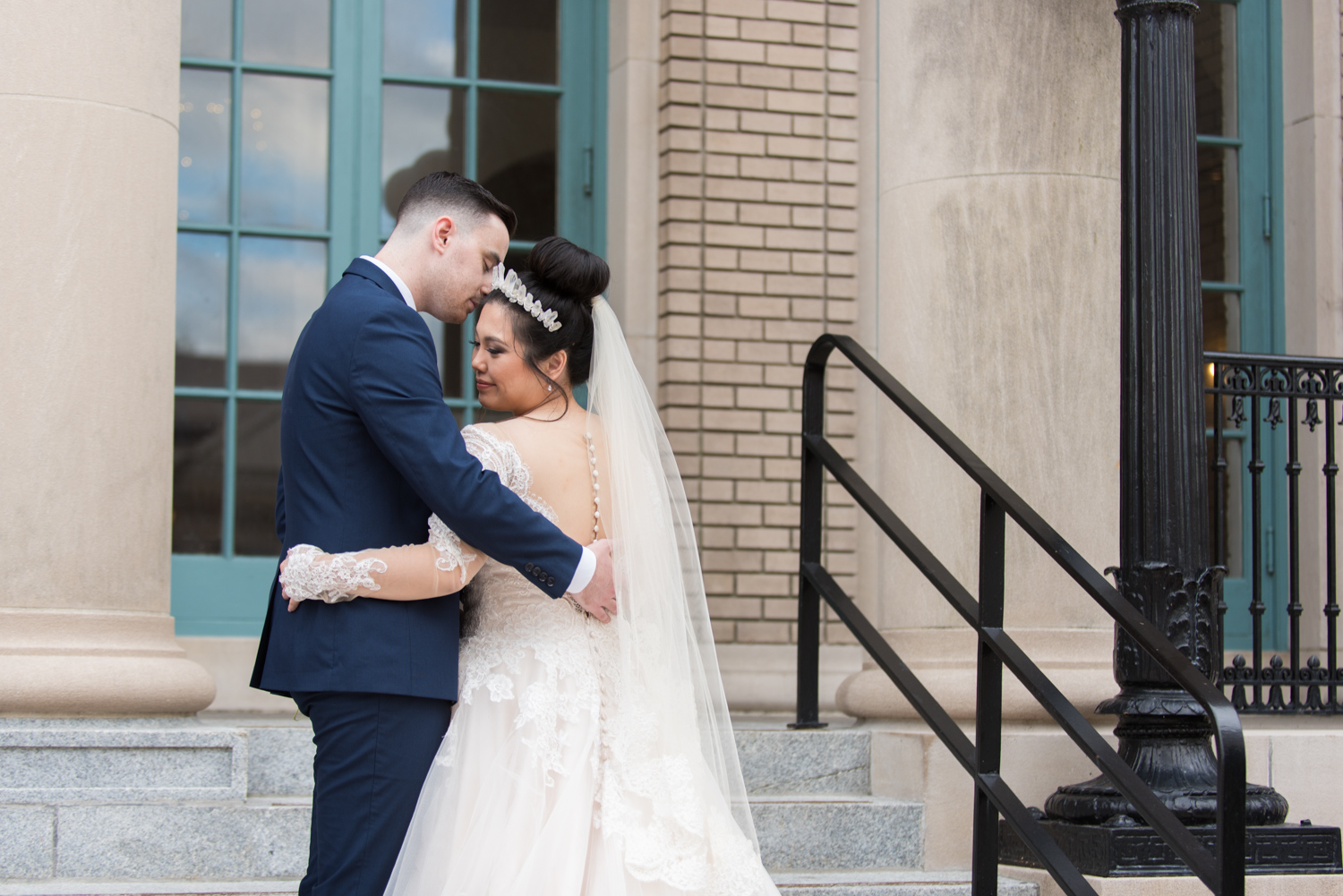 Rose Gold Wedding at Historic Post Office Virginia Harry Potter Themed Wedding-156.JPG