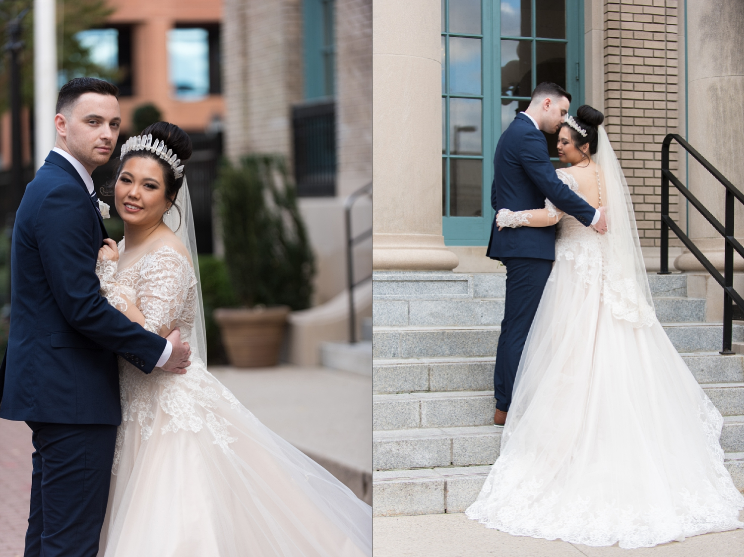 Rose Gold Wedding at Historic Post Office Virginia Harry Potter Themed Wedding-149_WEB.jpg