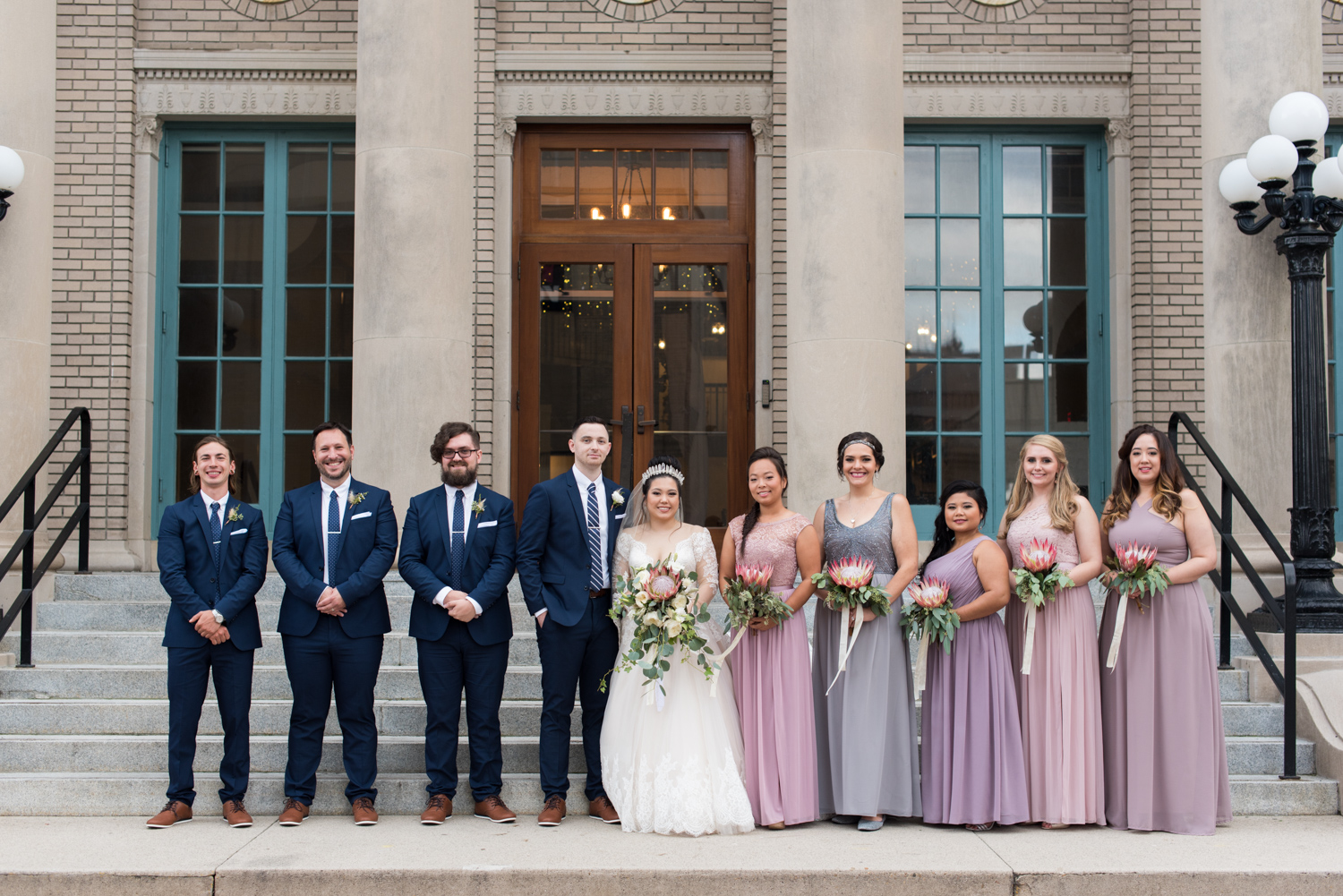 Rose Gold Wedding at Historic Post Office Virginia Harry Potter Themed Wedding-167.JPG