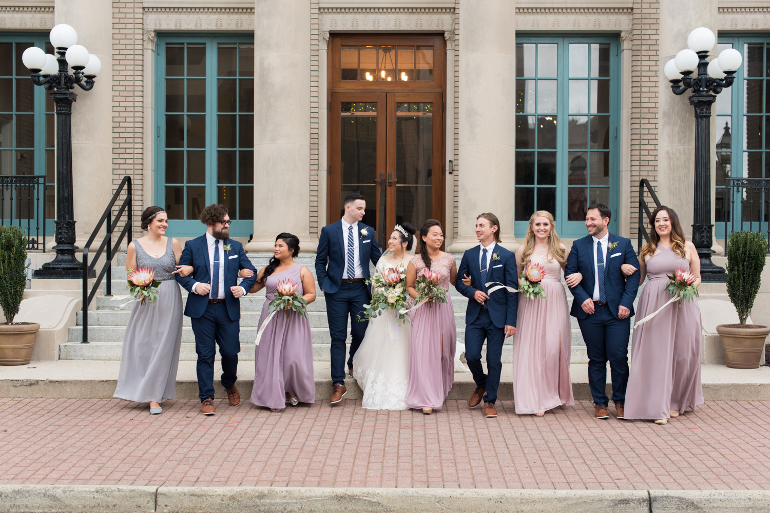 Rose Gold Wedding at Historic Post Office Virginia Harry Potter Themed Wedding-171.JPG