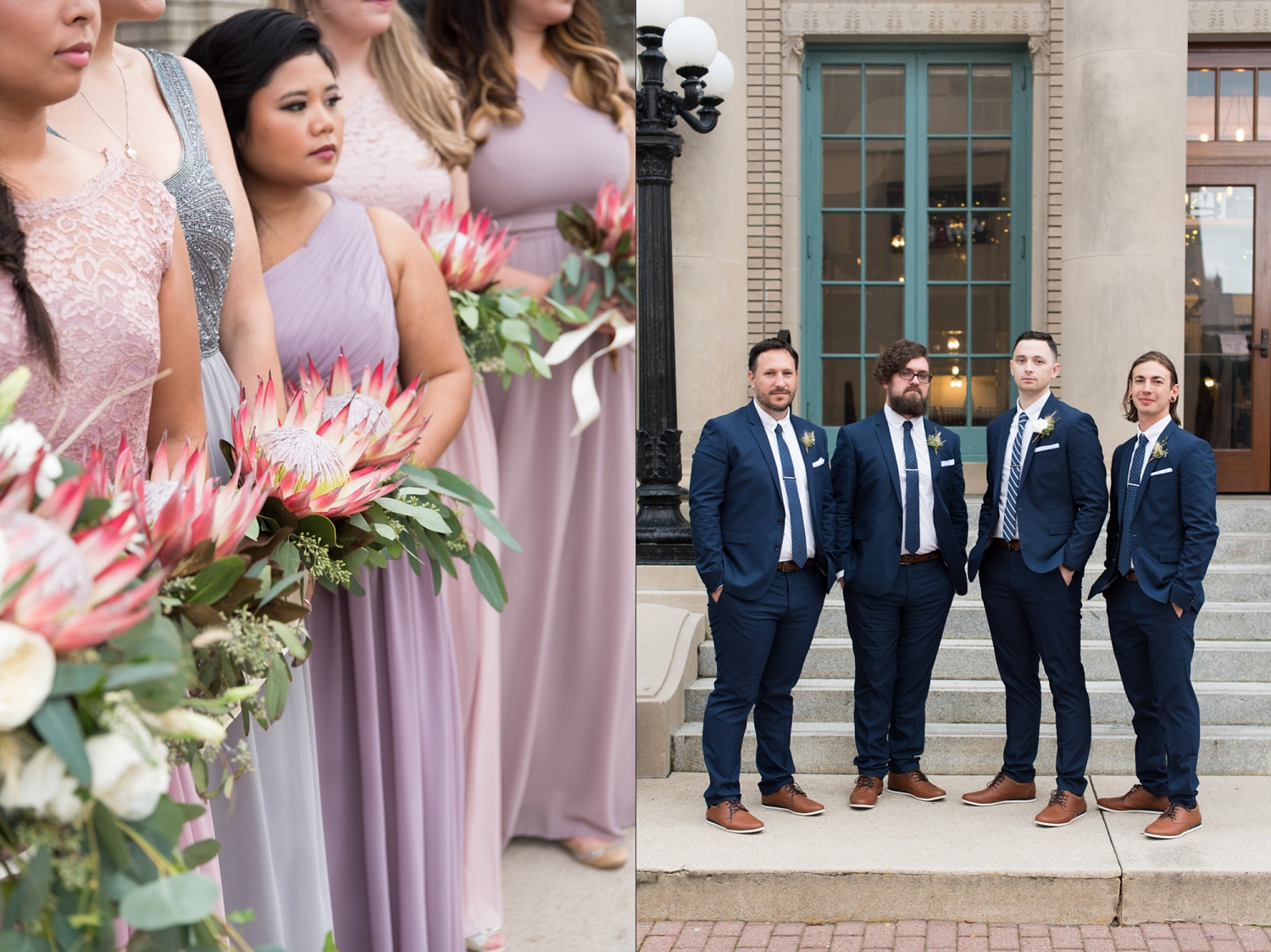 Rose Gold Wedding at Historic Post Office Virginia Harry Potter Themed Wedding-165_WEB.jpg