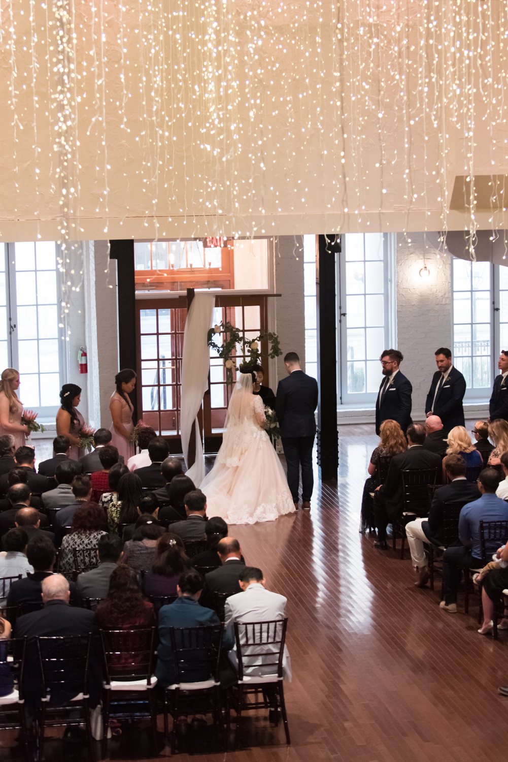 Rose Gold Wedding at Historic Post Office Virginia Harry Potter Themed Wedding-218.JPG