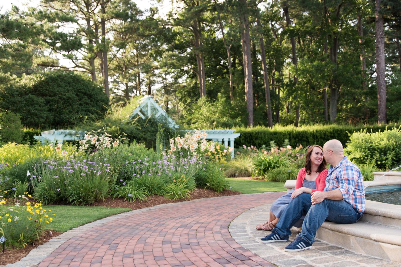 Norfolk Botanical Garden Engagement Session Floral Gardens-151.jpg