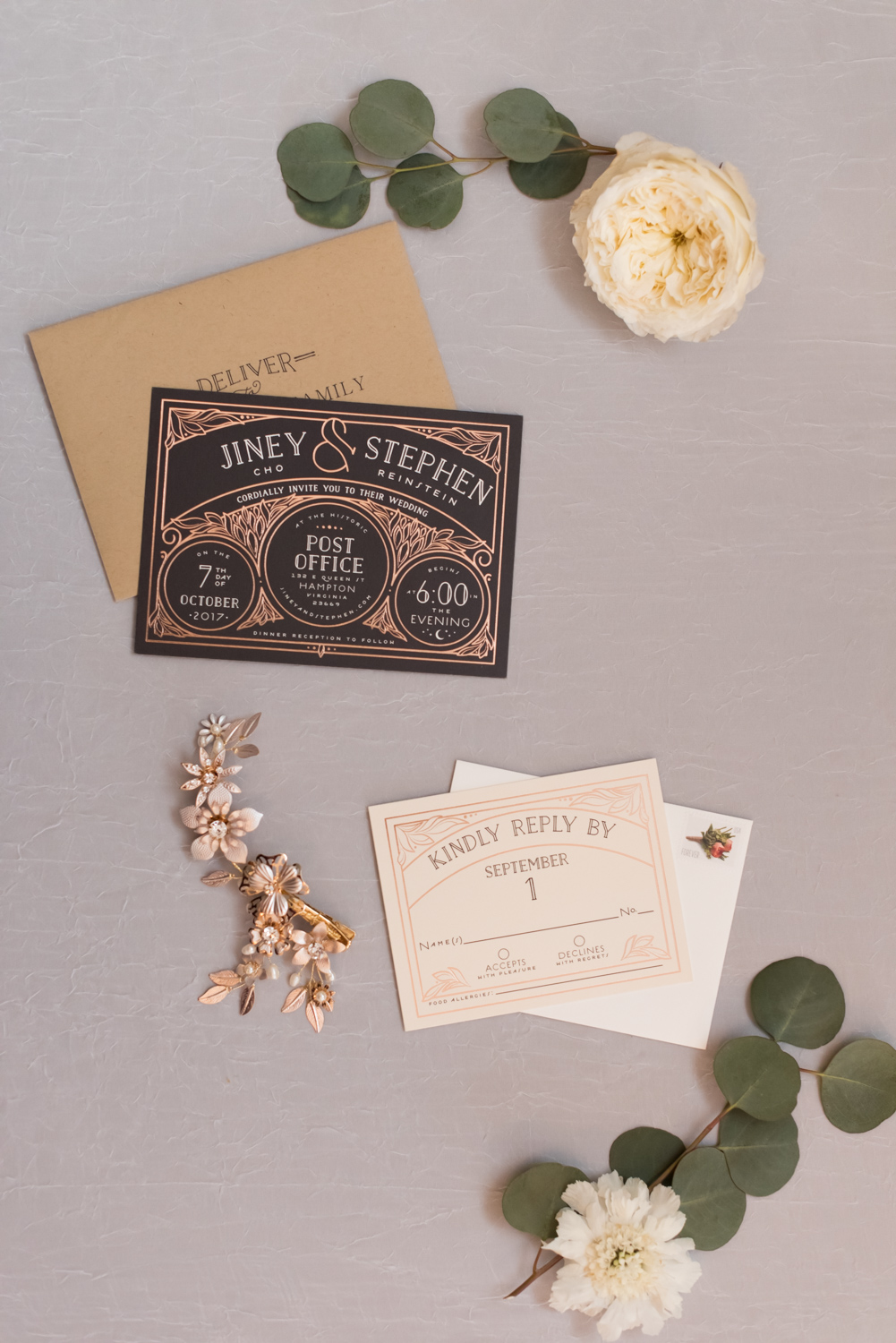 Rose Gold Wedding at Historic Post Office Virginia Harry Potter Themed Wedding-110.JPG
