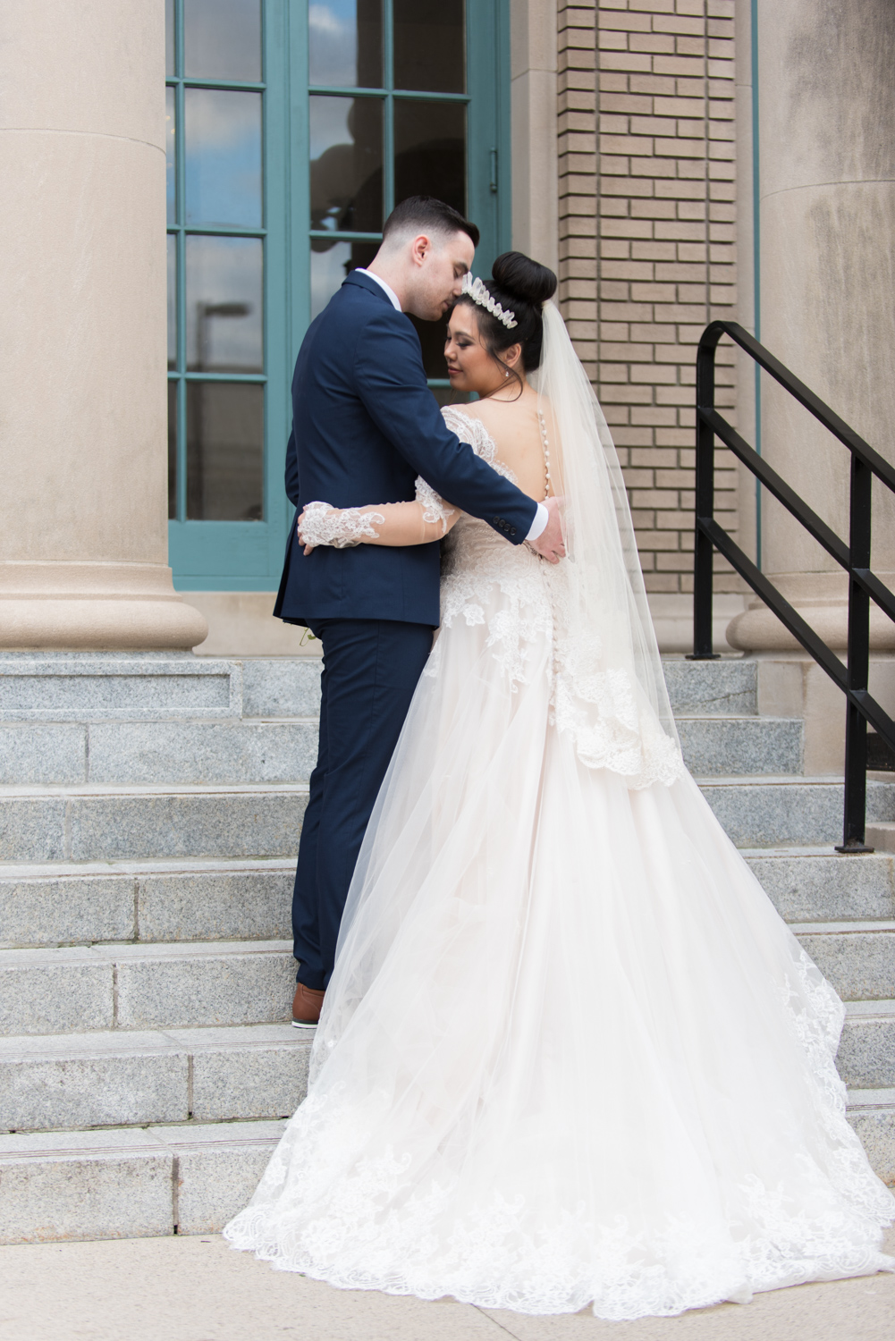Rose Gold Wedding at Historic Post Office Virginia Harry Potter Themed Wedding-157.JPG