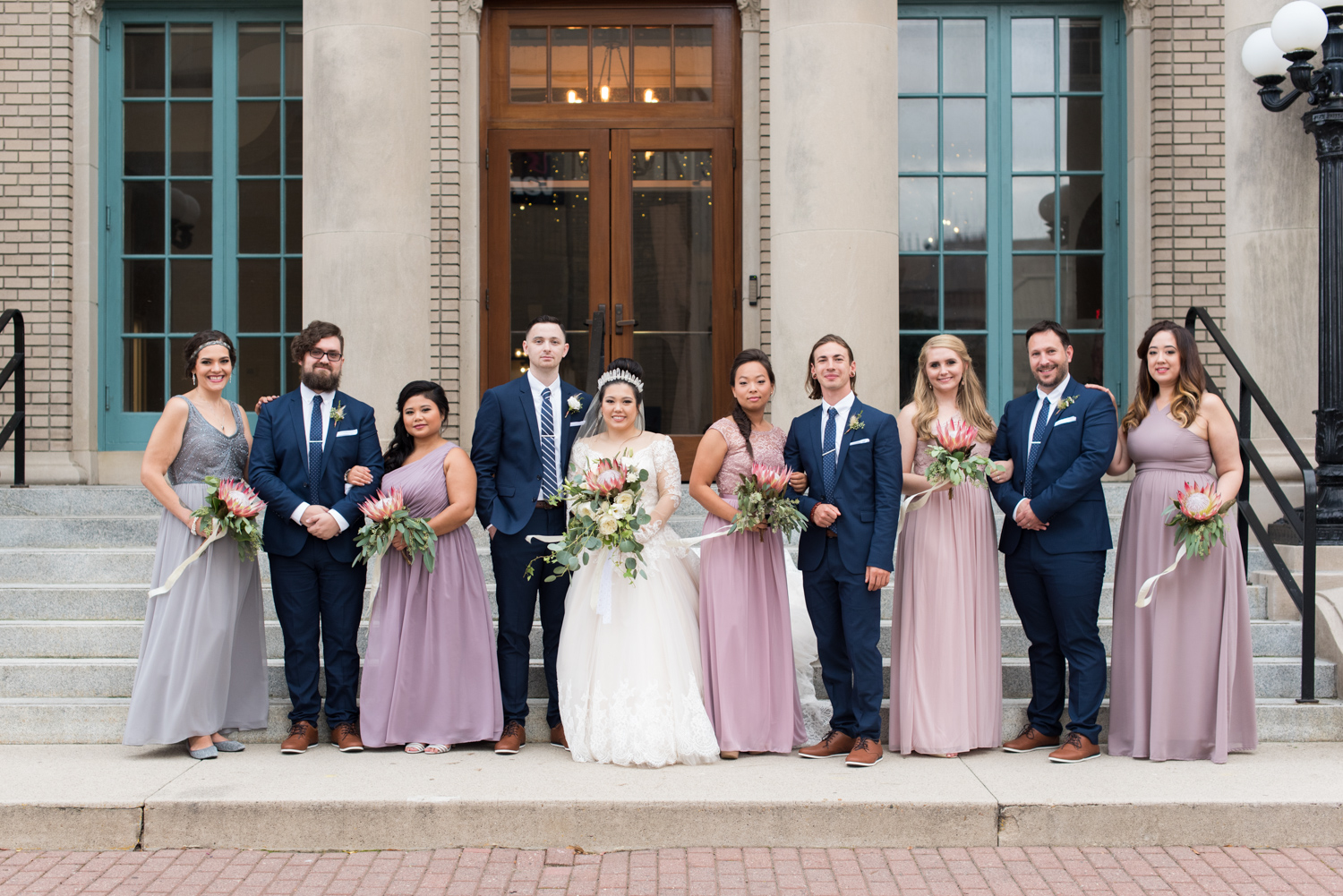 Rose Gold Wedding at Historic Post Office Virginia Harry Potter Themed Wedding-168.JPG