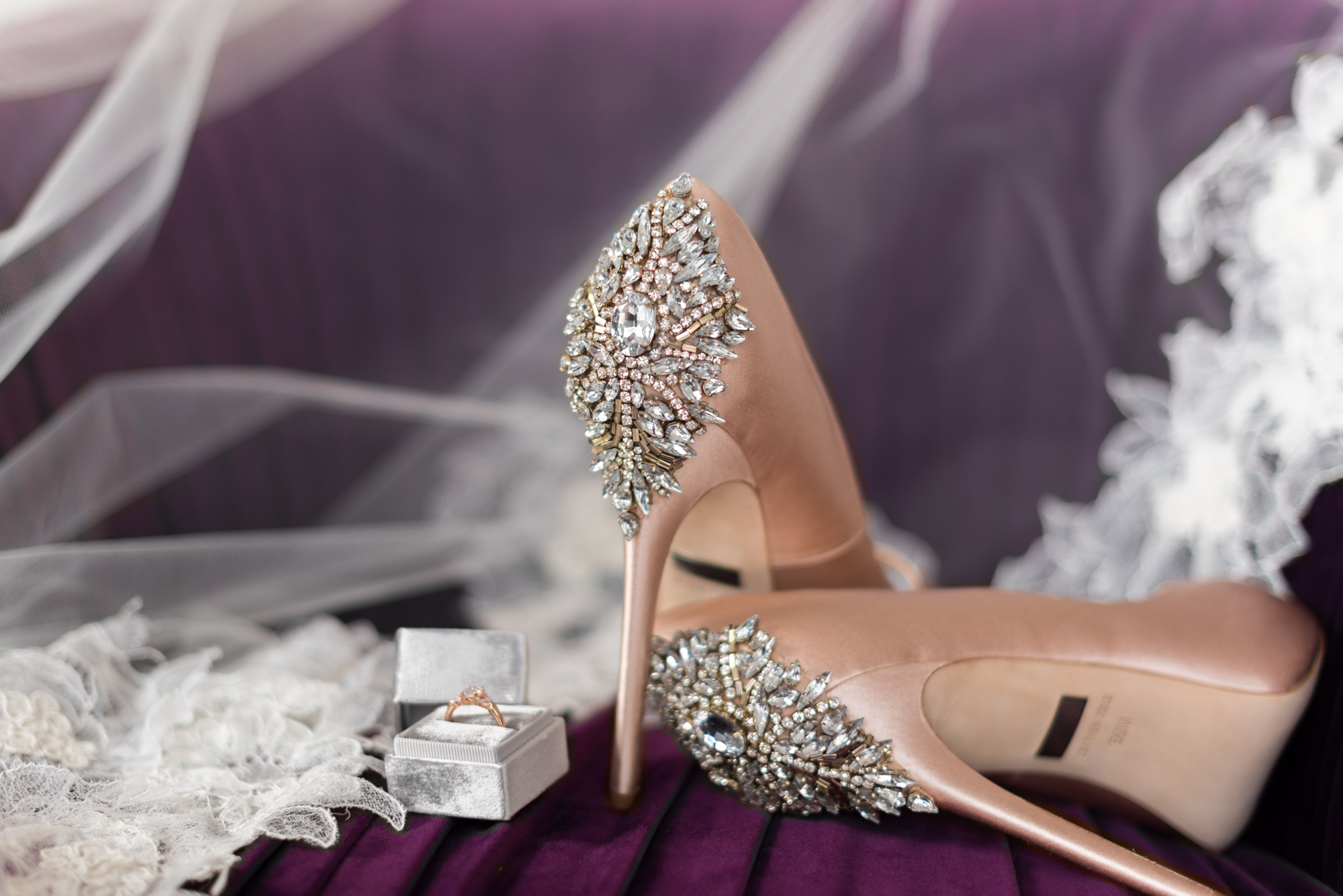 Jewel Tone Wedding Badgley Mischka Heels.jpg