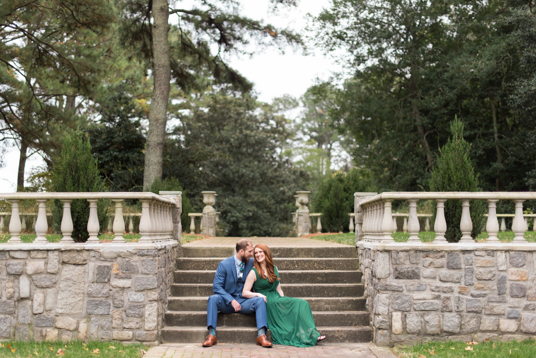 Norfolk Botanical Garden Anniversary Session Renaissance Court-116.jpg