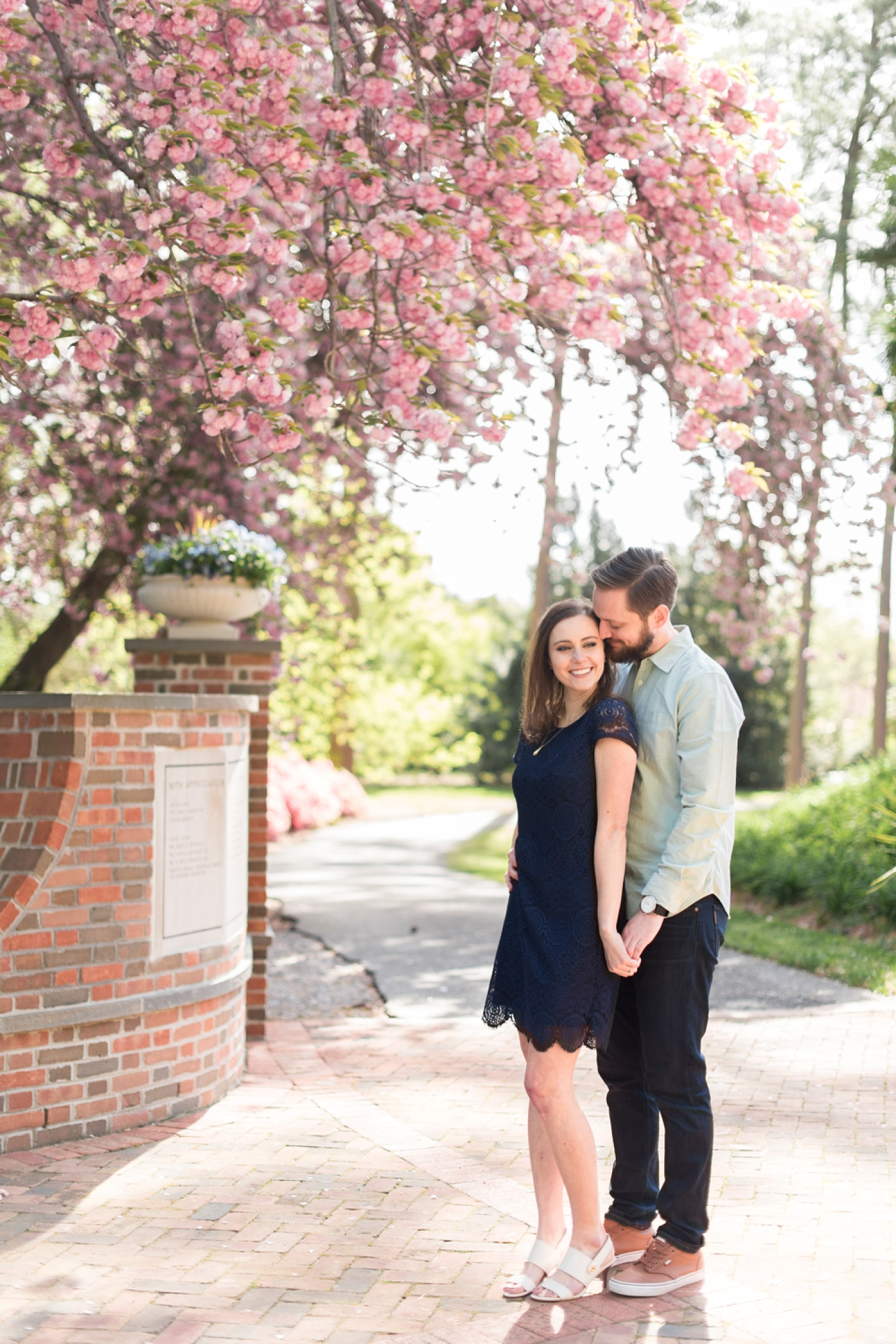 Cherry Blossom Engagement Session at Norfolk Botanical Garden-103_WEB.jpg